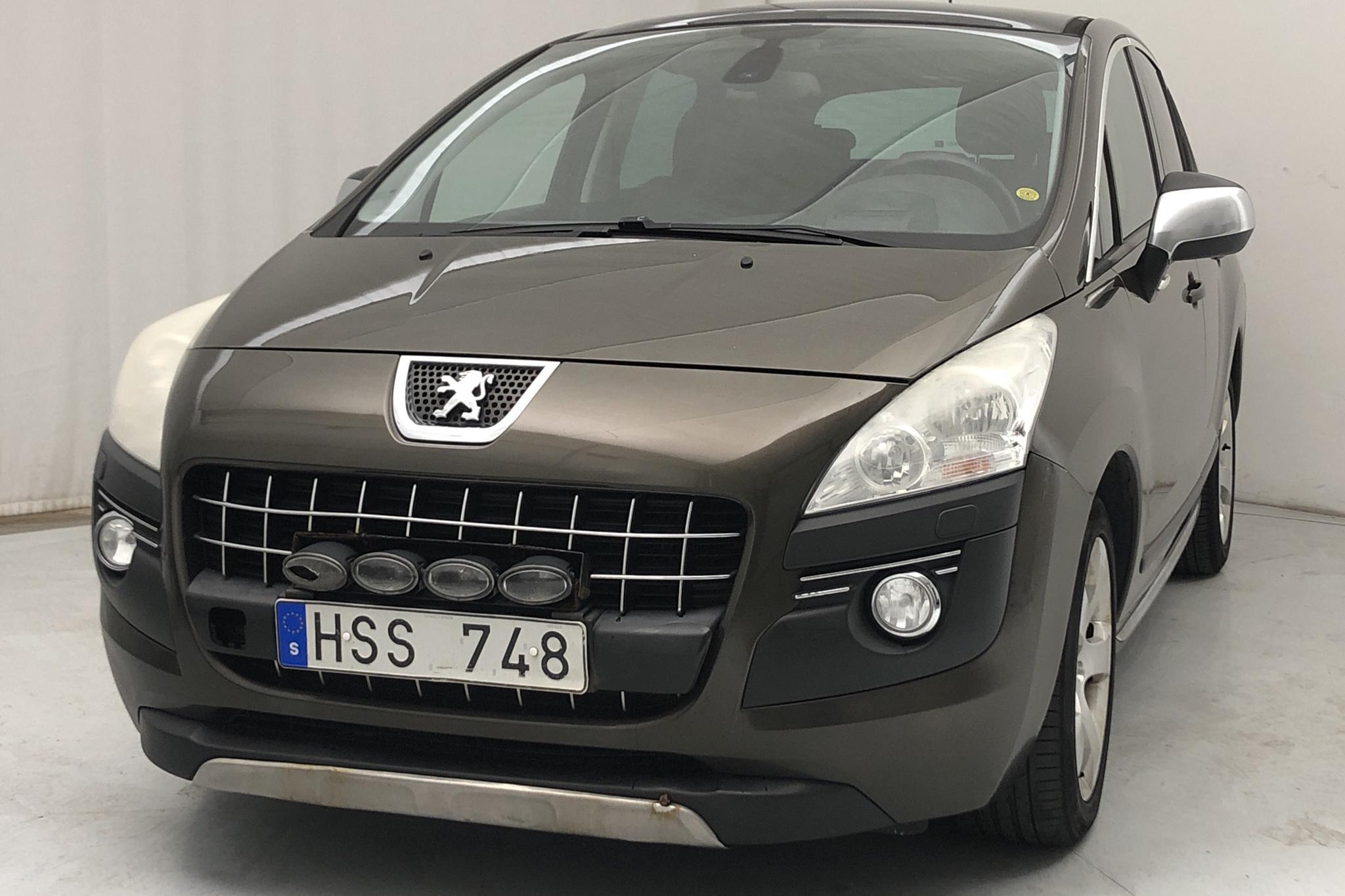 Peugeot 3008 2.0 HDi (163hk) - 31 417 mil - Automat - brun - 2010