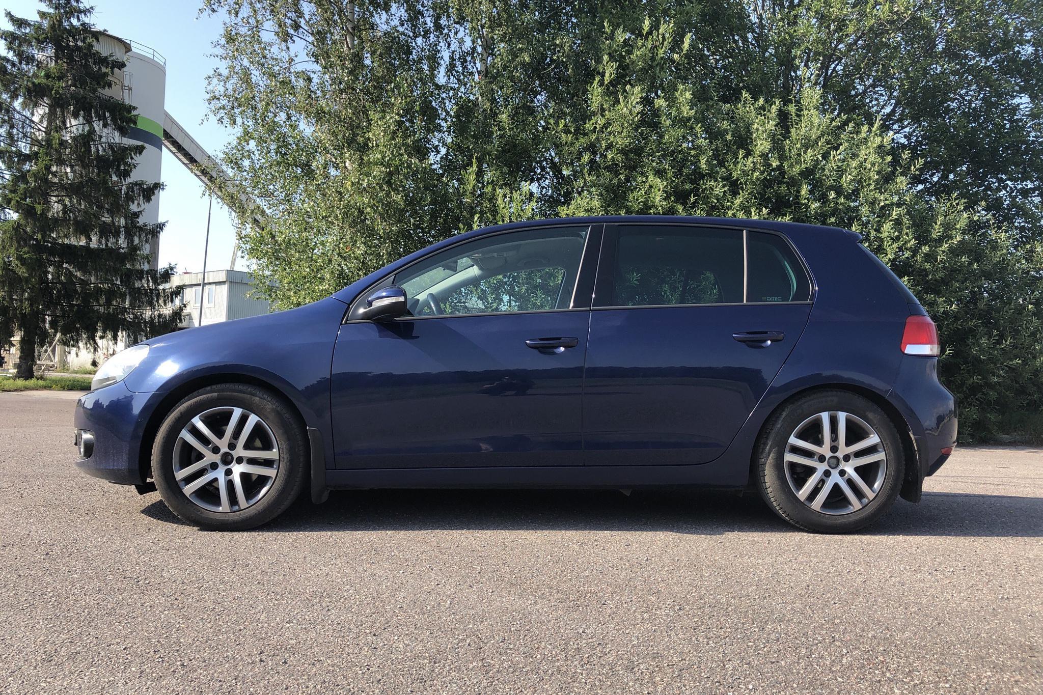 VW Golf VI 1.6 TDI BlueMotion Technology 5dr (105hk) - 13 994 mil - Manuell - Dark Blue - 2012