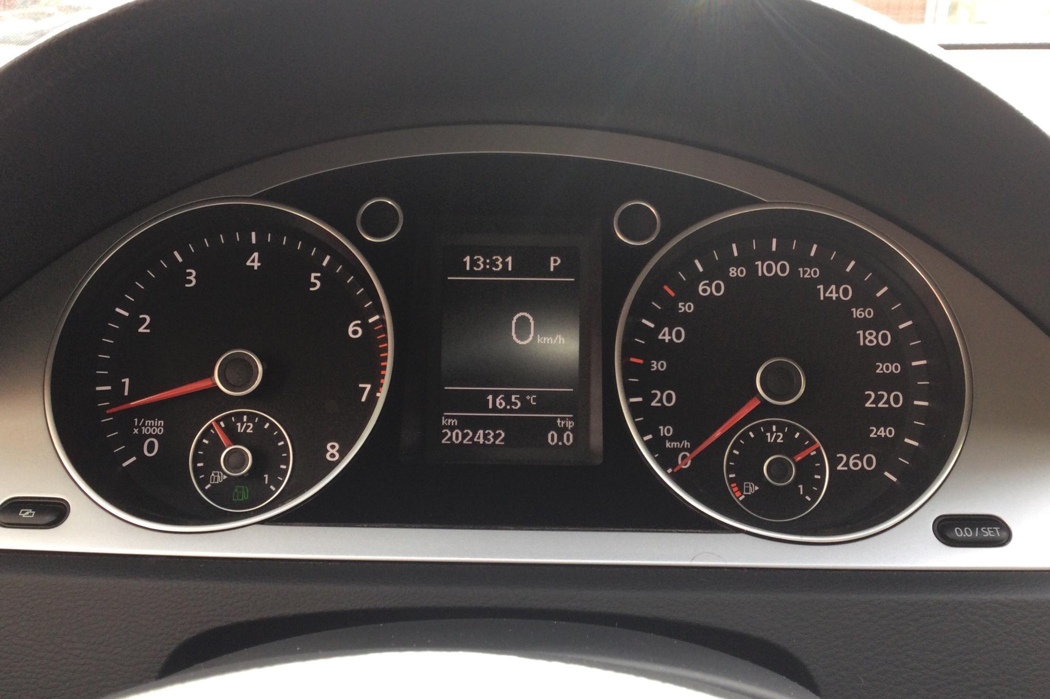VW Passat 1.4 TSI EcoFuel Variant (150hk) - 20 243 mil - Automat - röd - 2010