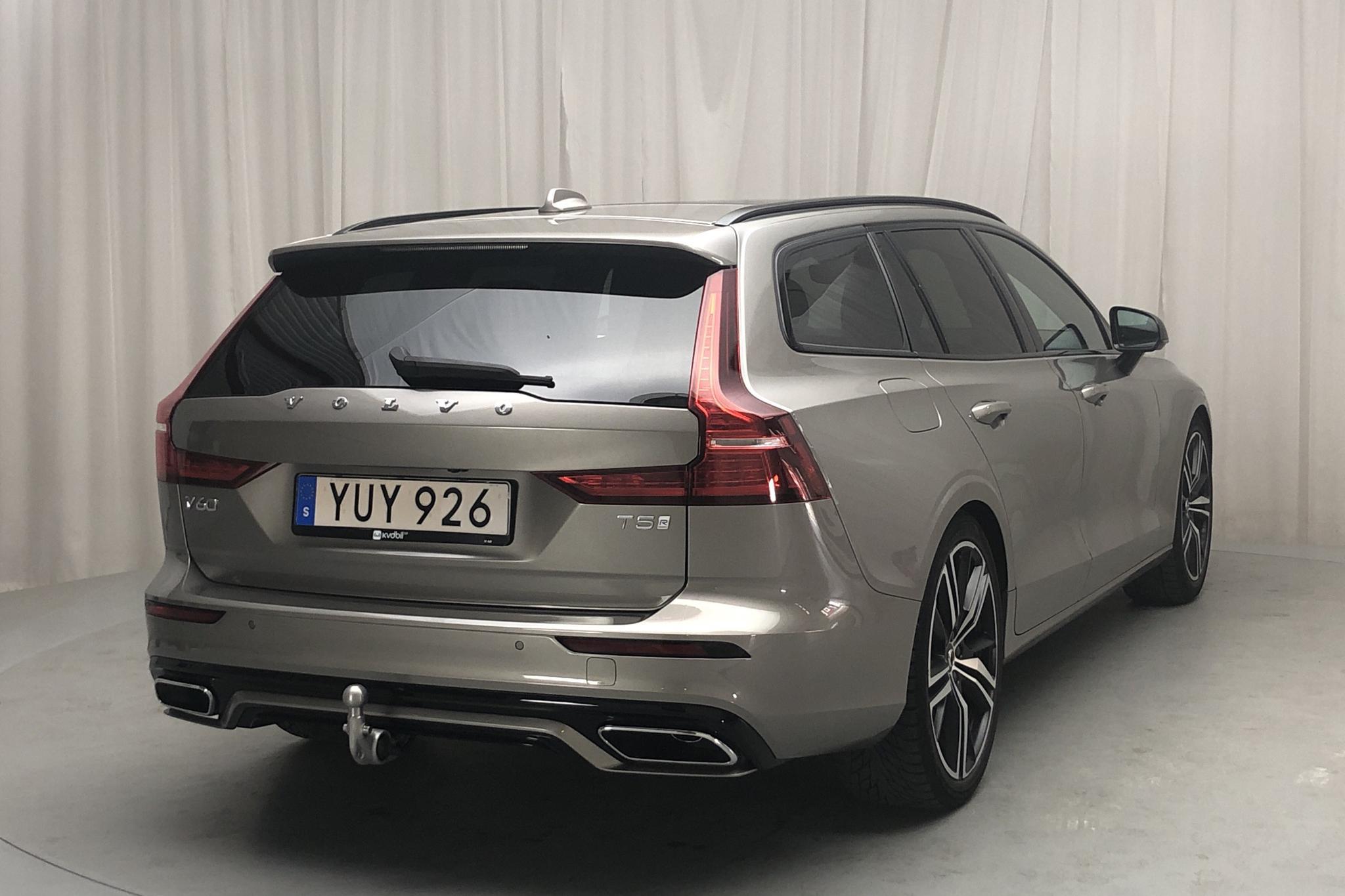 Volvo V60 T5 (250hk) - 5 734 mil - Automat - grå - 2019