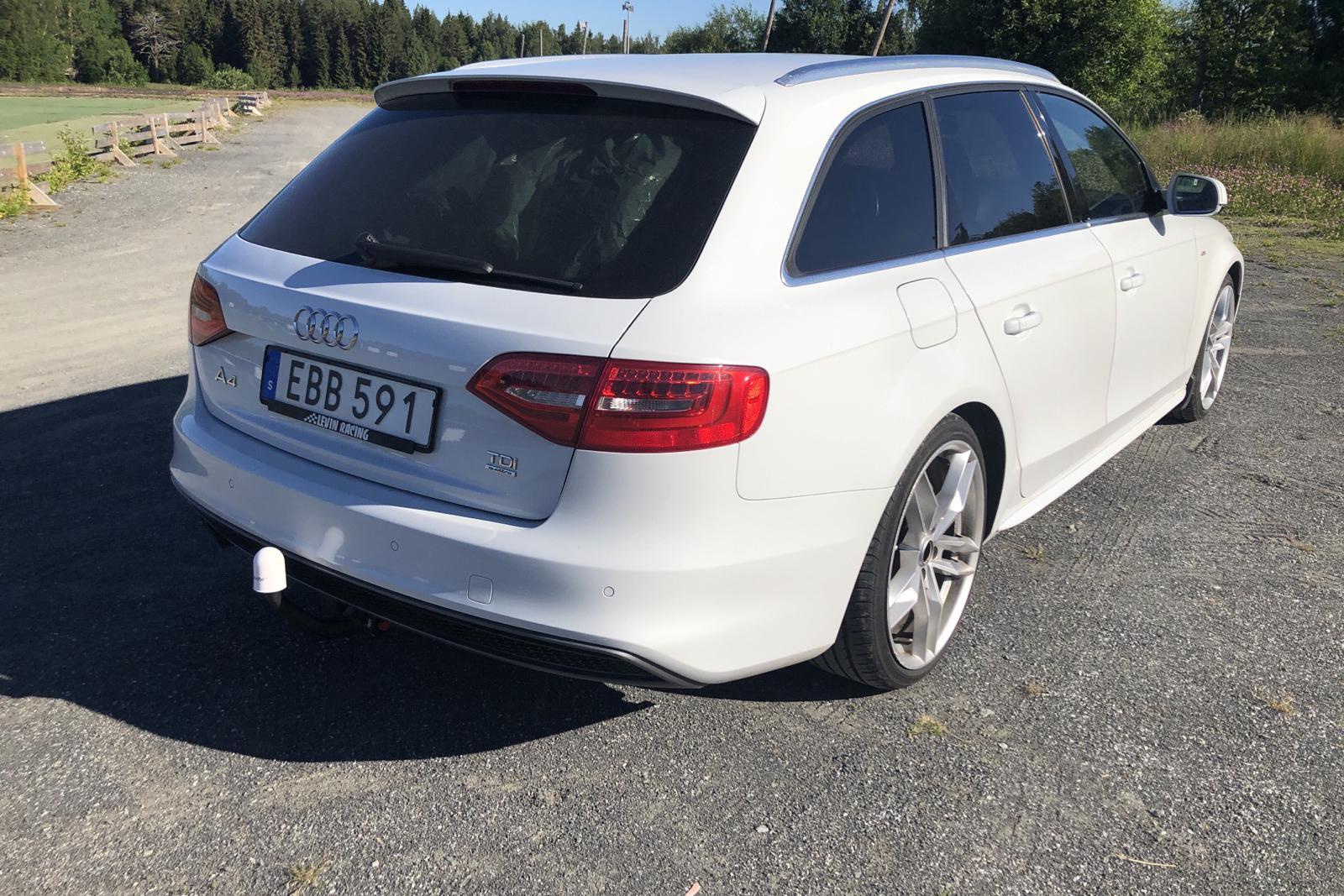 Audi A4 2.0 TDI Avant quattro (177hk) - 14 644 mil - Automat - vit - 2014