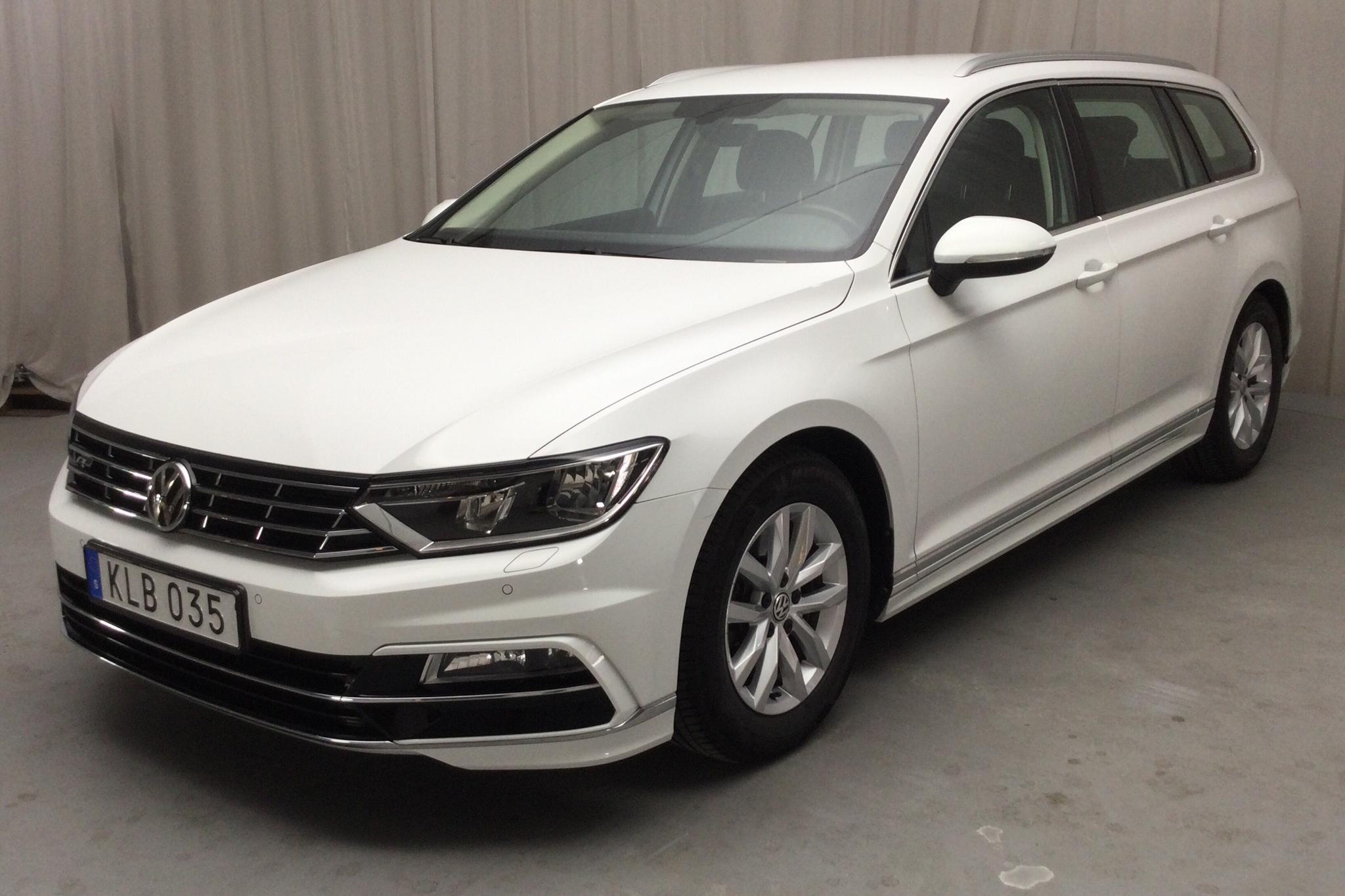 VW Passat 1.4 TSI Sportscombi (150hk) - 4 786 mil - Automat - vit - 2018