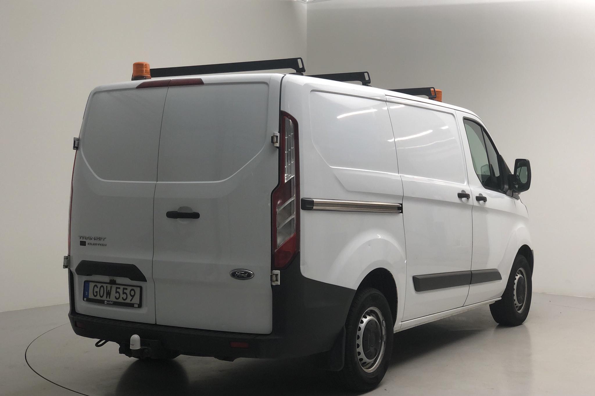 Ford Transit Custom 270 (100hk) - 11 003 mil - Manuell - vit - 2015