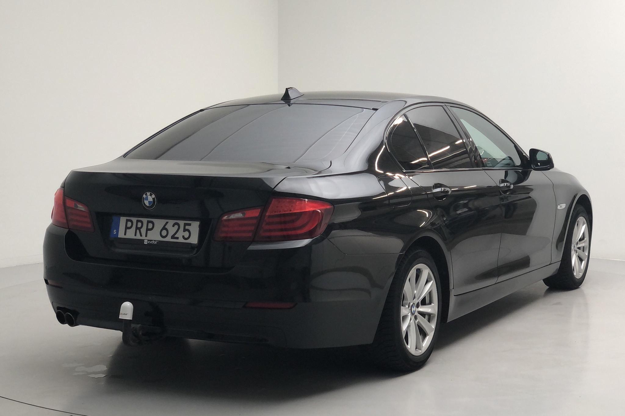 BMW 520d Sedan, F10 (184hk) - 19 679 mil - Automat - svart - 2012