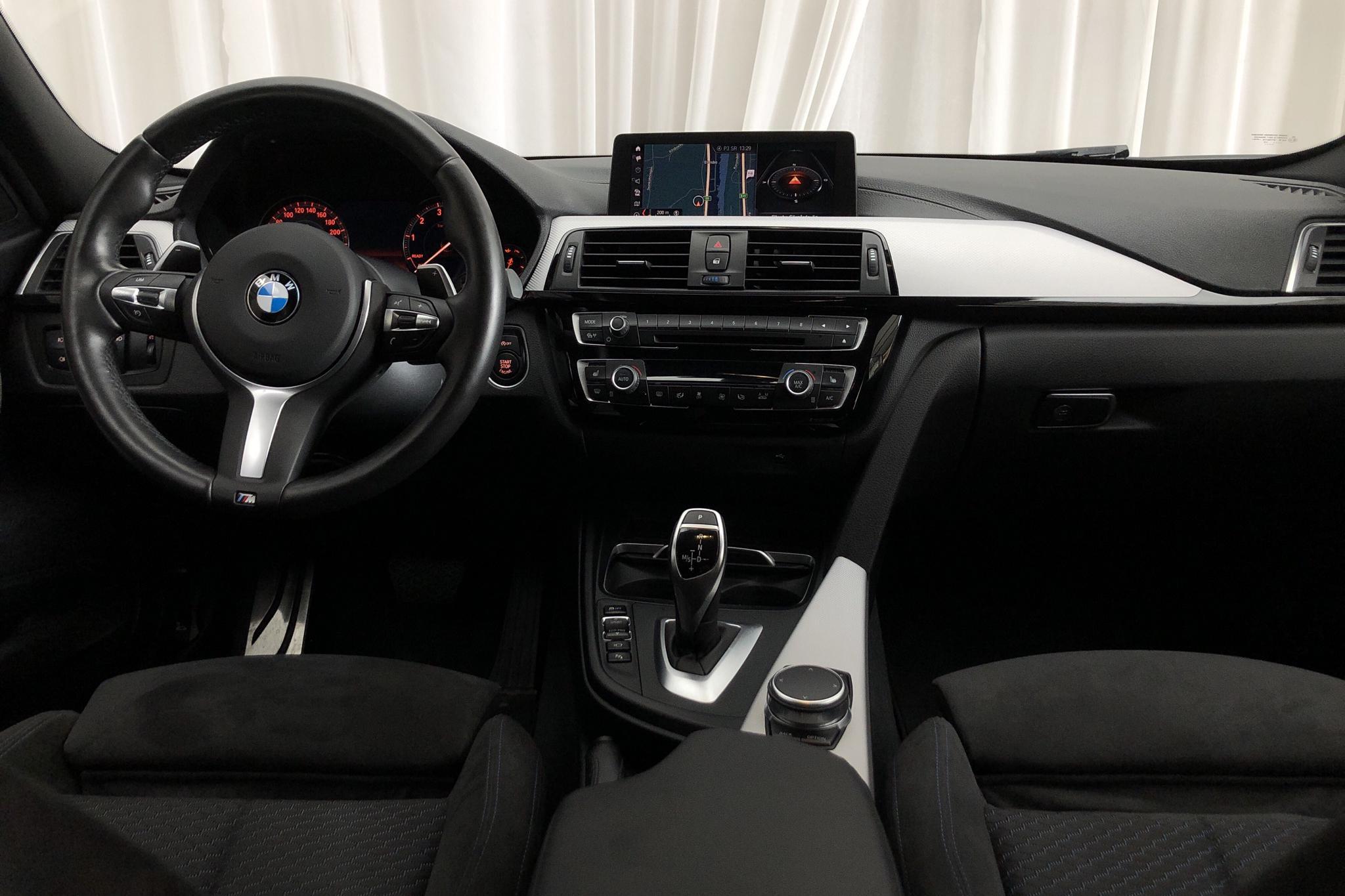 BMW 330i xDrive Touring, F31 (252hk) - 49 600 km - Automatic - black - 2018
