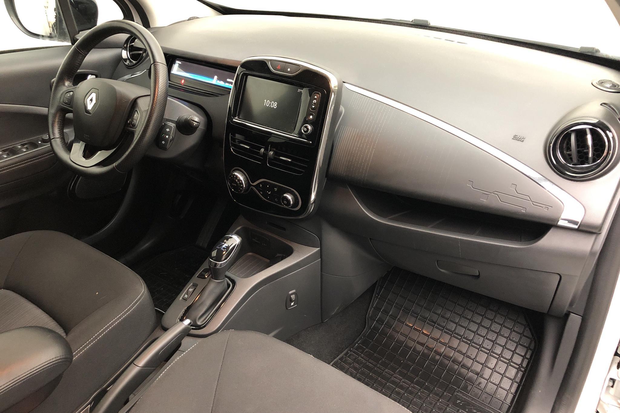 Renault Zoe 41 kWh R110 (108hk) - 4 261 mil - Automat - vit - 2018