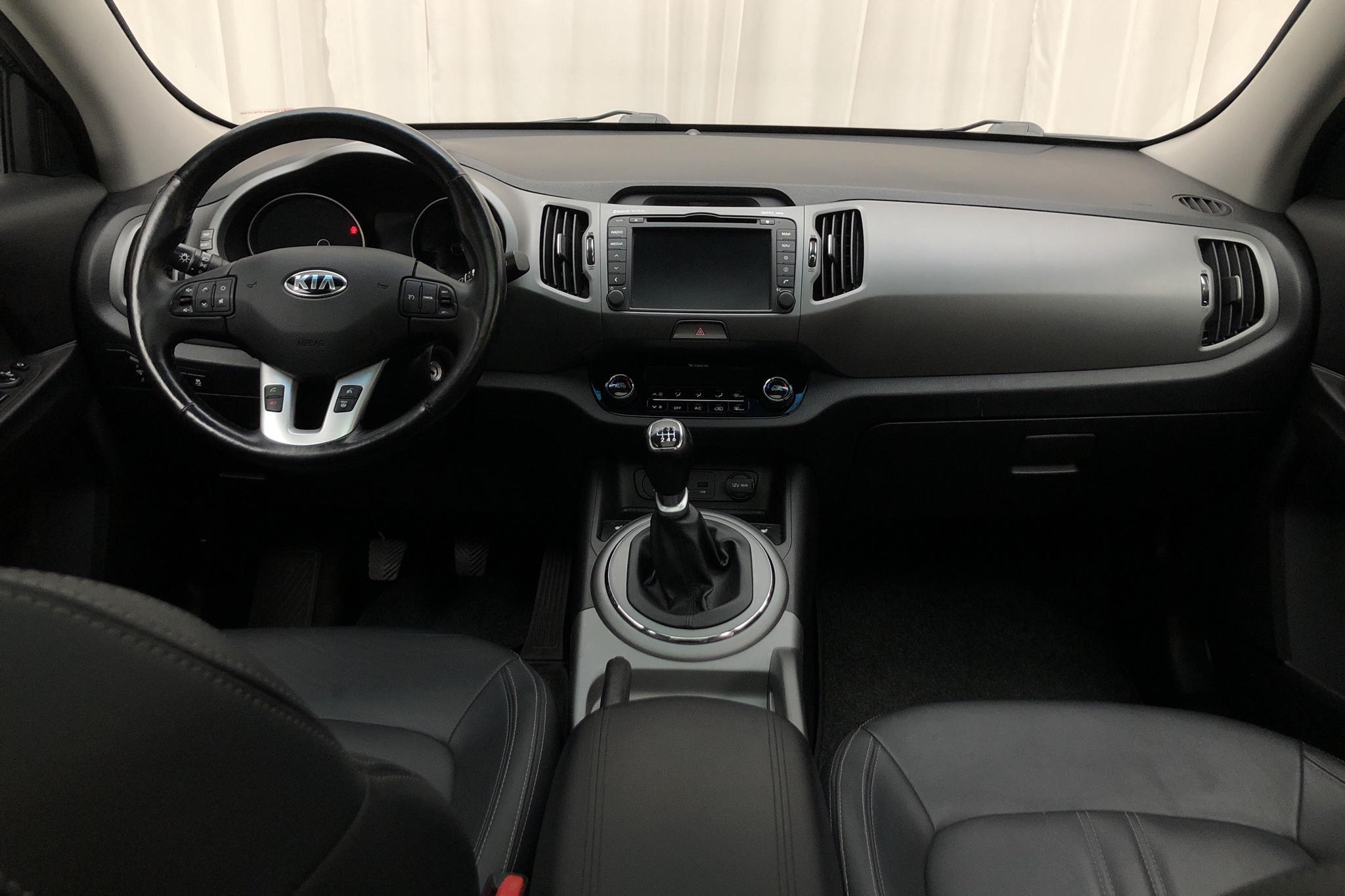 KIA Sportage 1.7 CRDi 2WD (115hk) - 15 270 mil - Manuell - svart - 2014