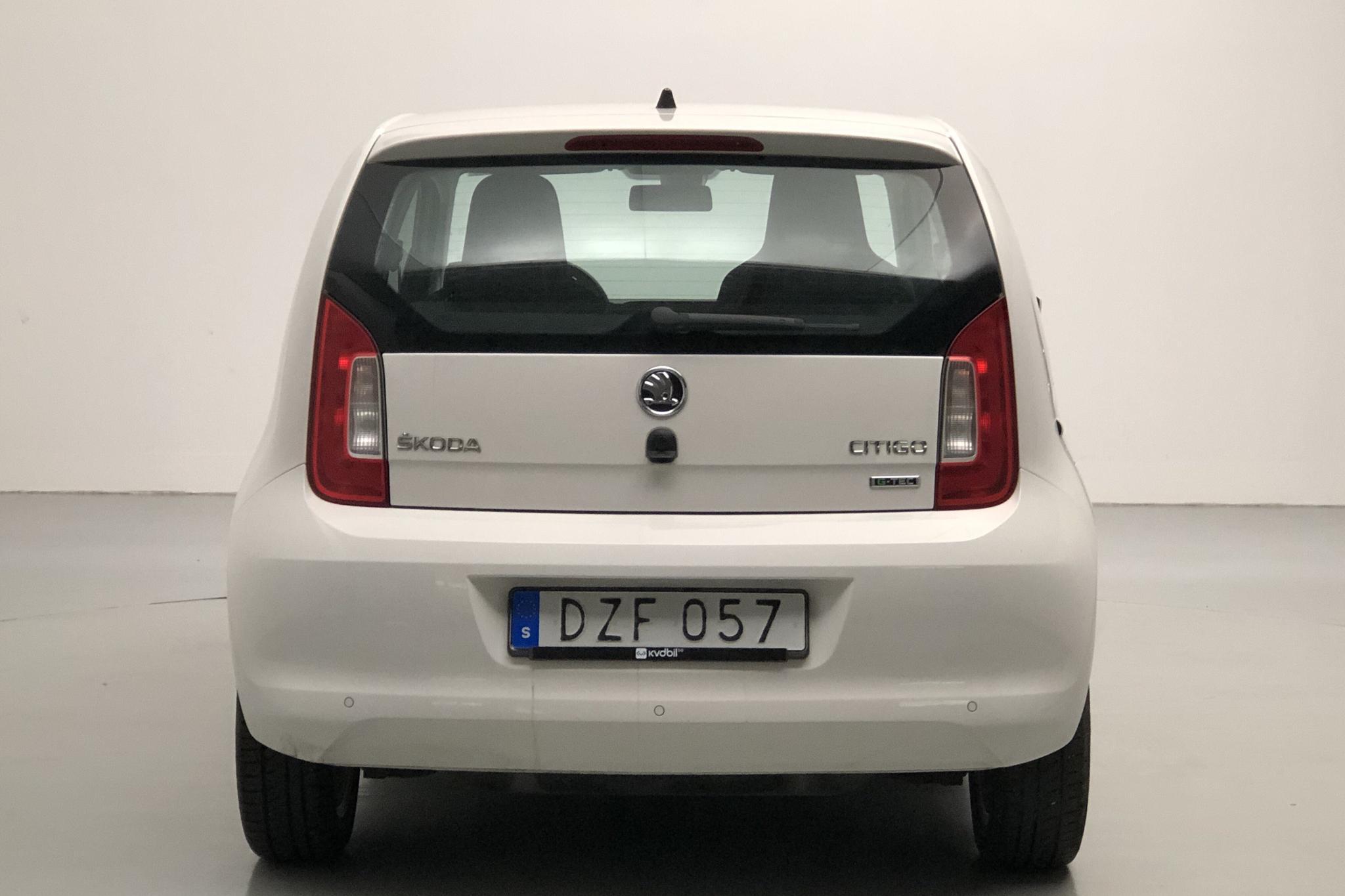 Skoda Citigo MPI 5dr CNG (68hk) - 126 460 km - Manual - white - 2015