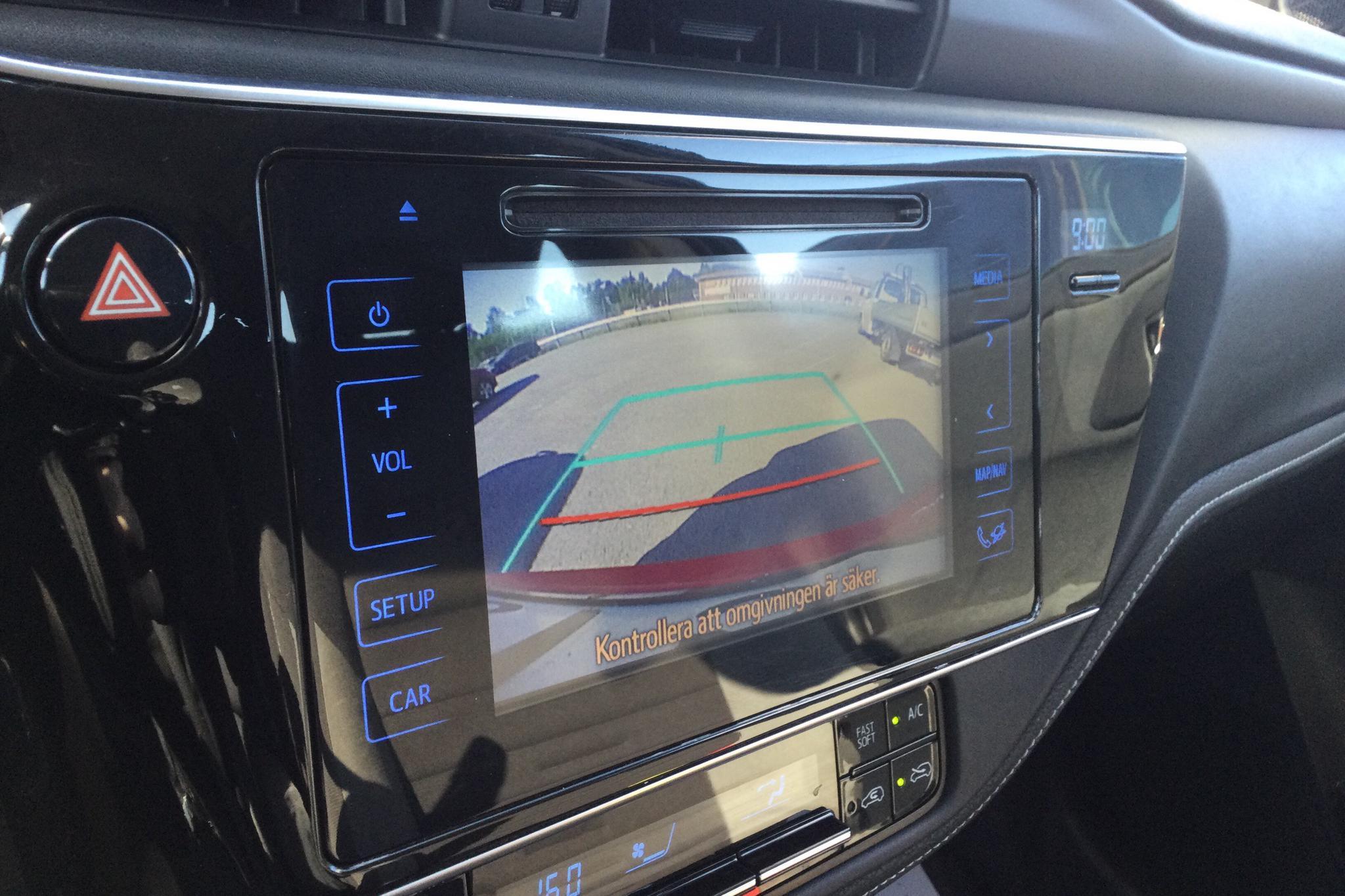 Toyota Auris 1.8 HSD Touring Sports (99hk) - 183 300 km - Automatic - black - 2017