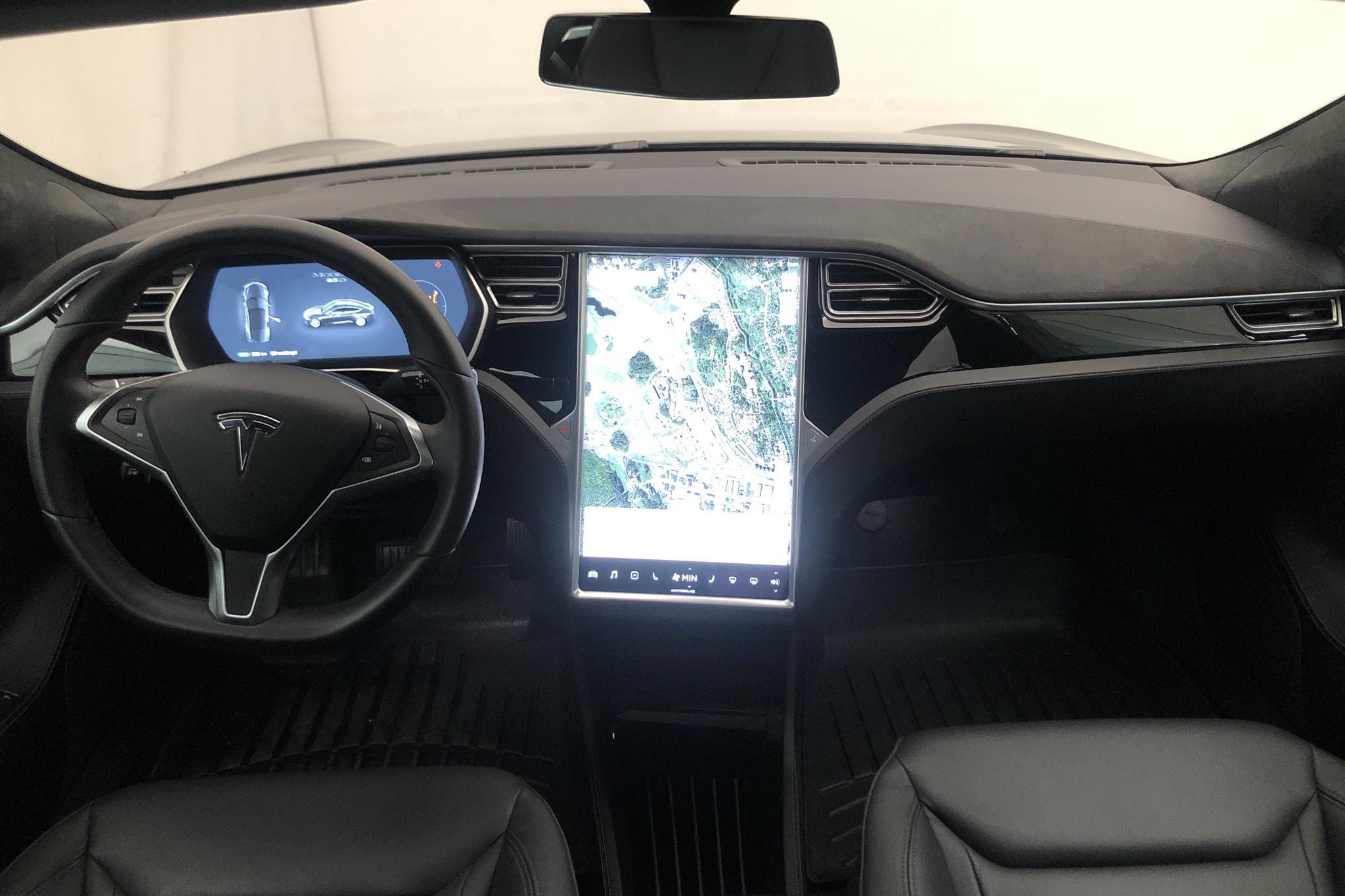 Tesla Model S 85D (428hk) - 5 782 mil - Automat - Dark Grey - 2016