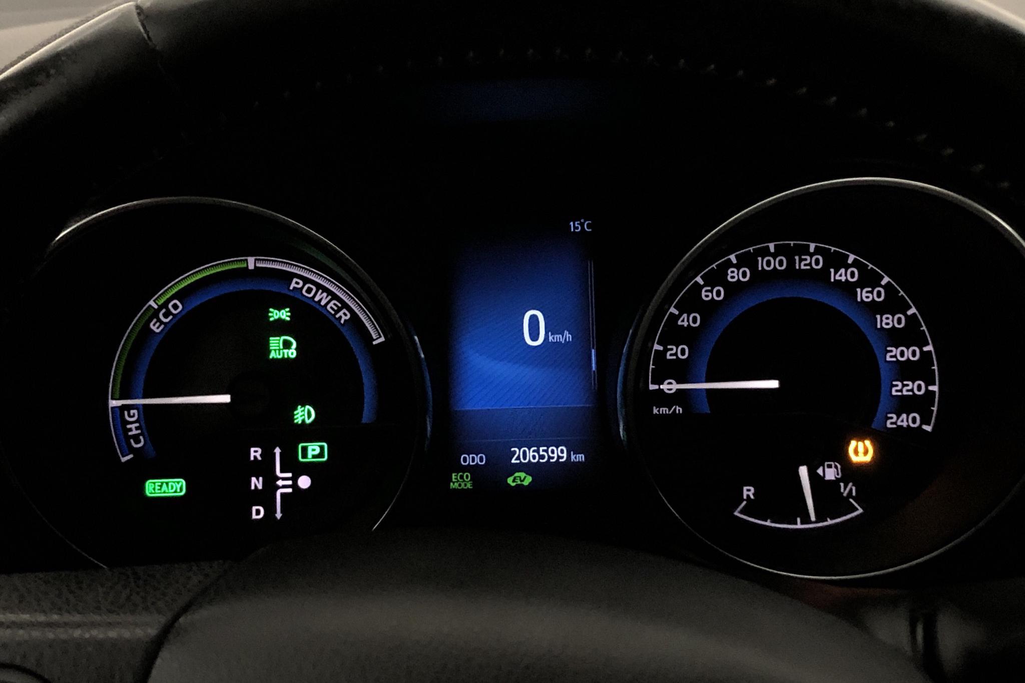 Toyota Auris 1.8 HSD Touring Sports (99hk) - 206 600 km - Automatic - black - 2017