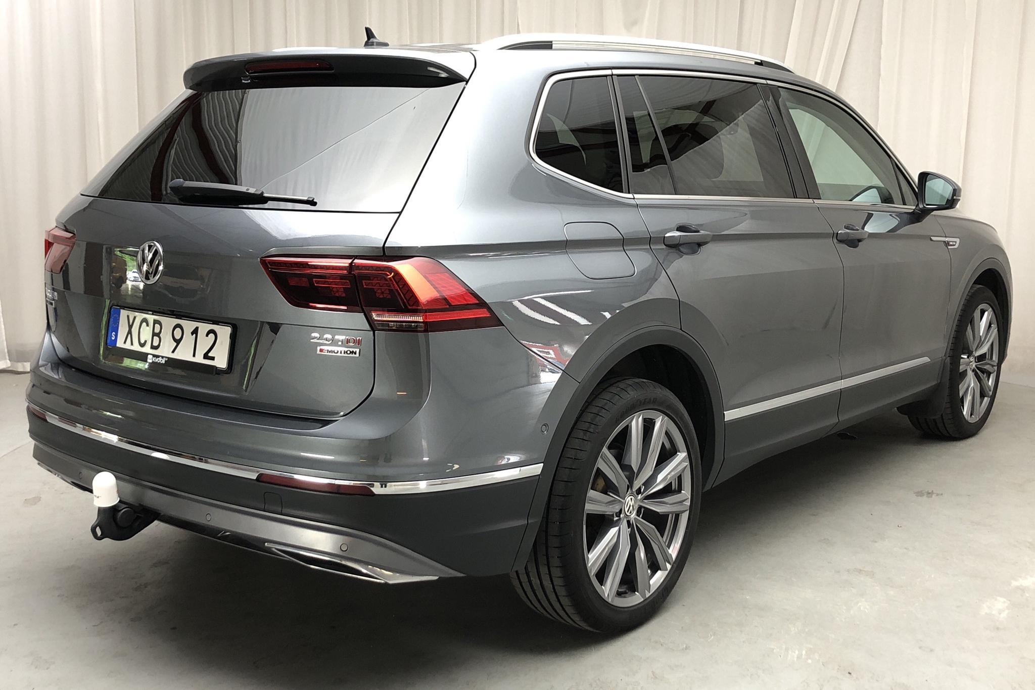 VW Tiguan 2.0 TDI 4MOTION (190hk) - 91 110 km - Automatic - Dark Grey - 2018
