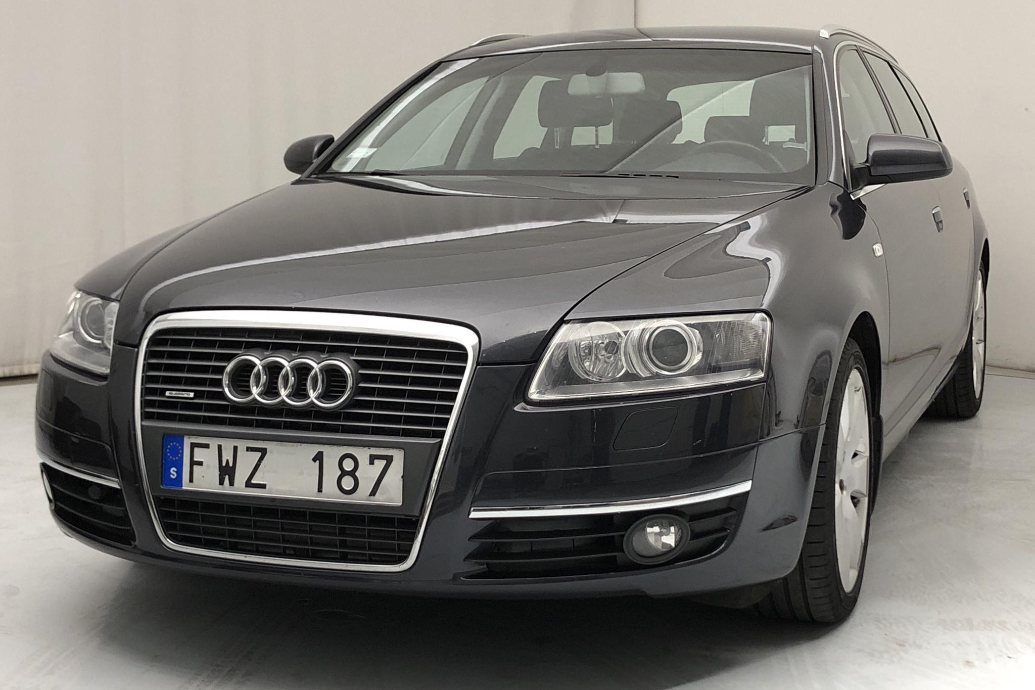 Audi A6 3.0 TDI Avant quattro (233hk) - 200 740 km - Automatic - Dark Grey - 2008