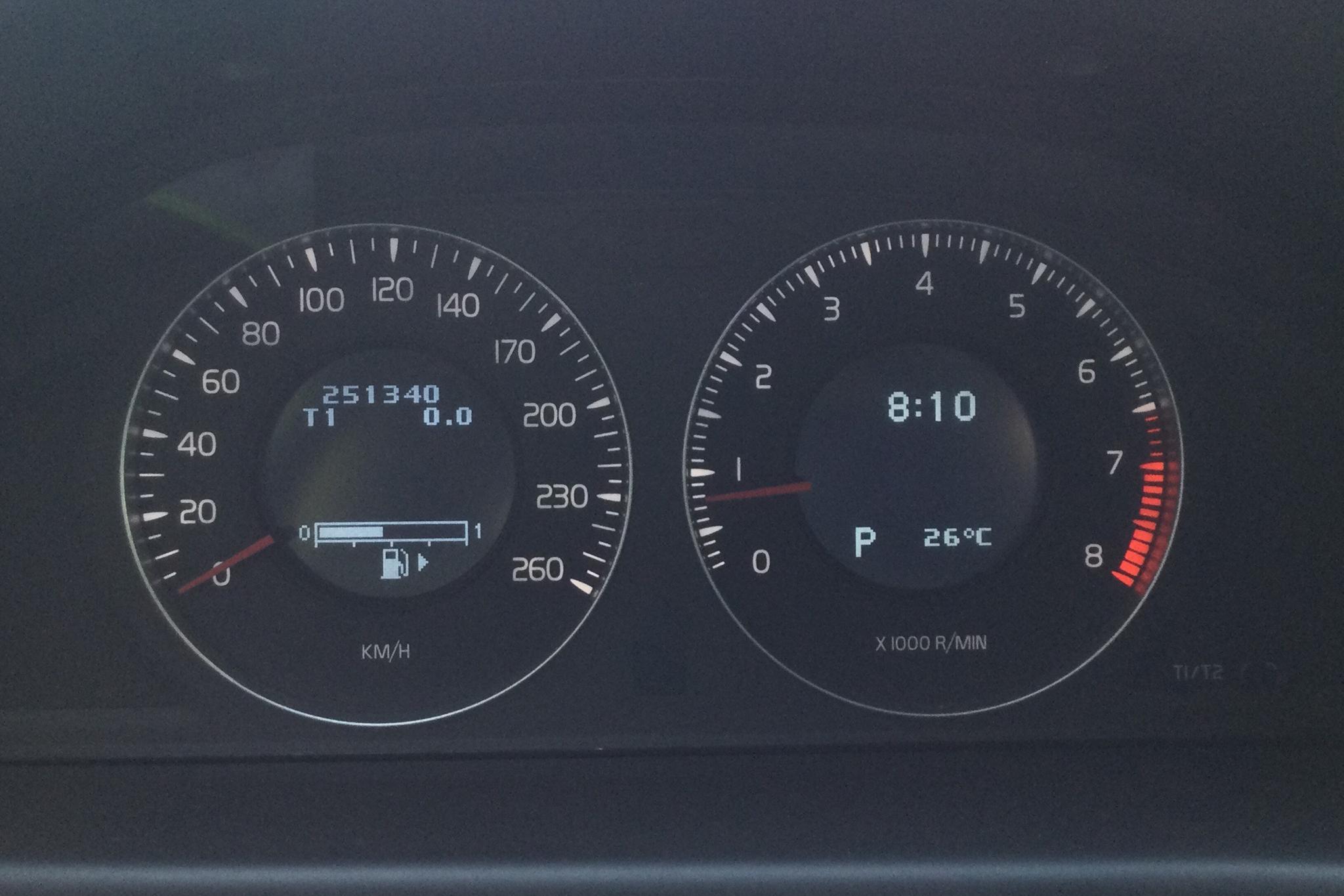 Volvo S80 3.2 (238hk) - 25 134 mil - Automat - svart - 2008