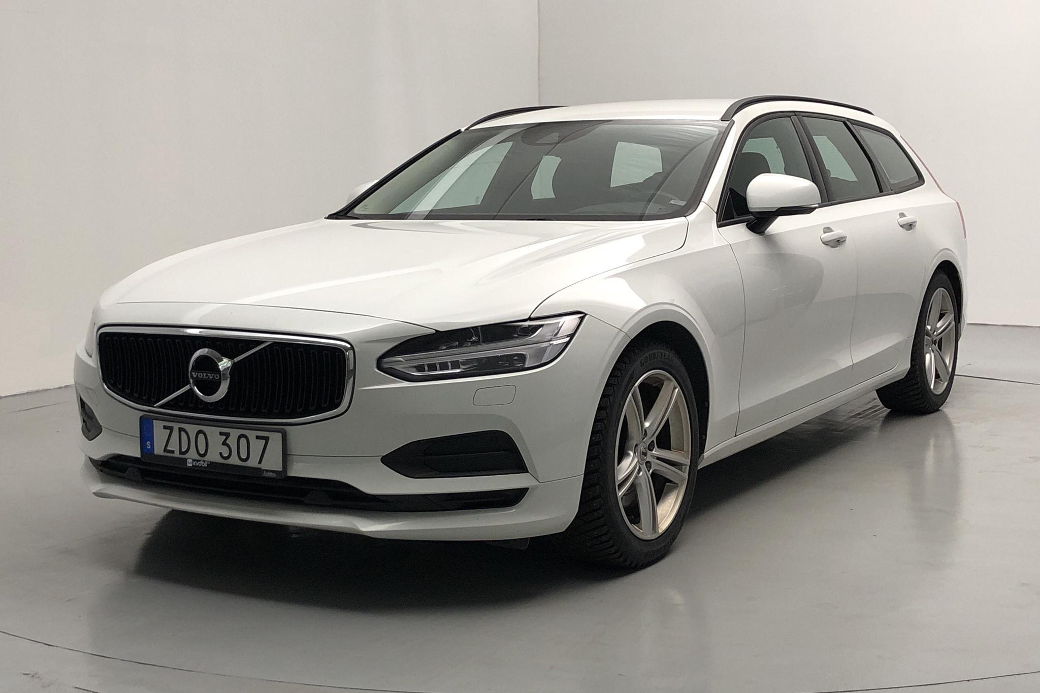 Volvo V90 T5 Bi-Fuel (254hk) - 151 660 km - Automatic - white - 2018