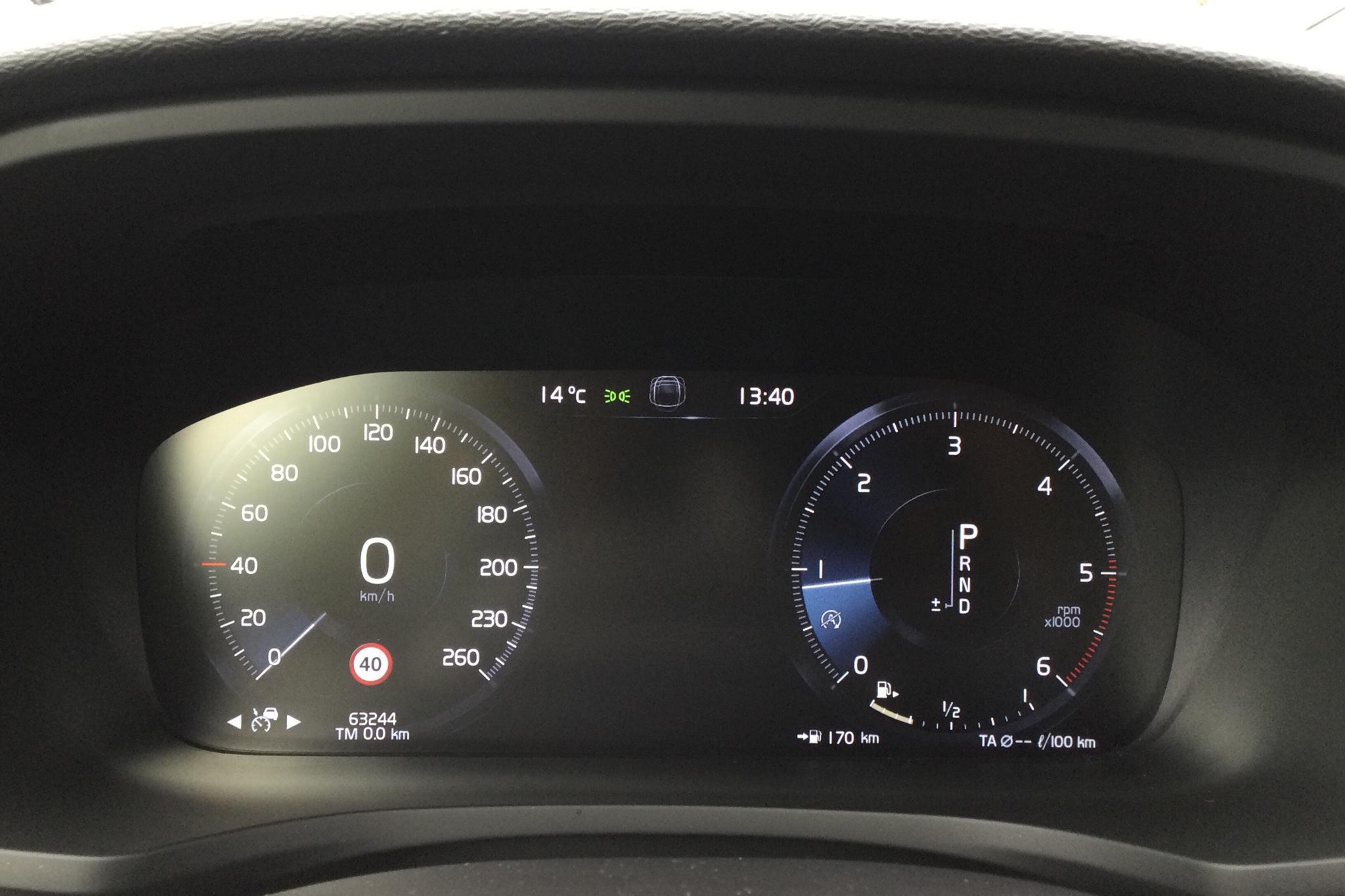 Volvo V60 D4 Cross Country AWD (190hk) - 6 325 mil - Automat - svart - 2020