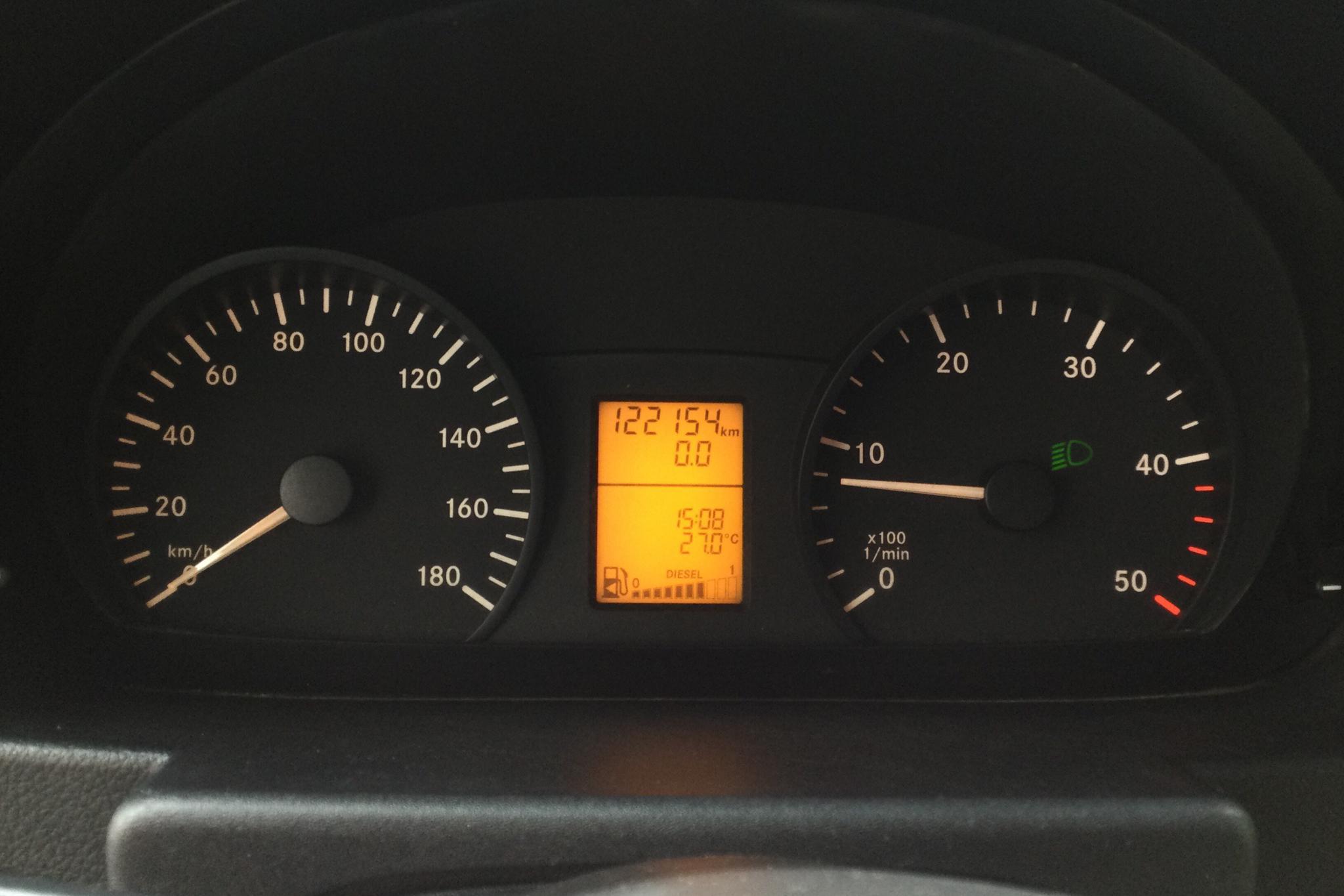 Mercedes Sprinter 316 CDI (163hk) - 12 215 mil - Manuell - vit - 2012