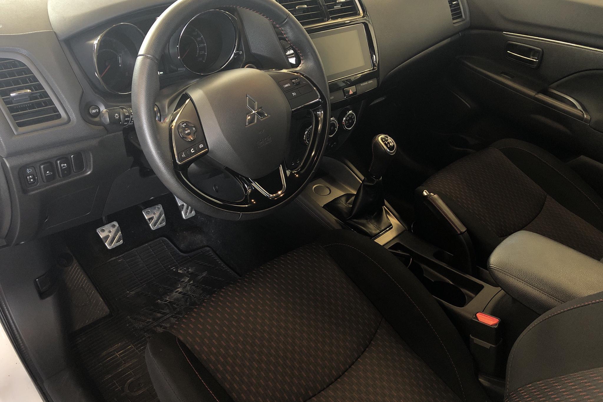 Mitsubishi ASX 1.6 2WD (117hk) - 4 819 mil - Manuell - vit - 2018