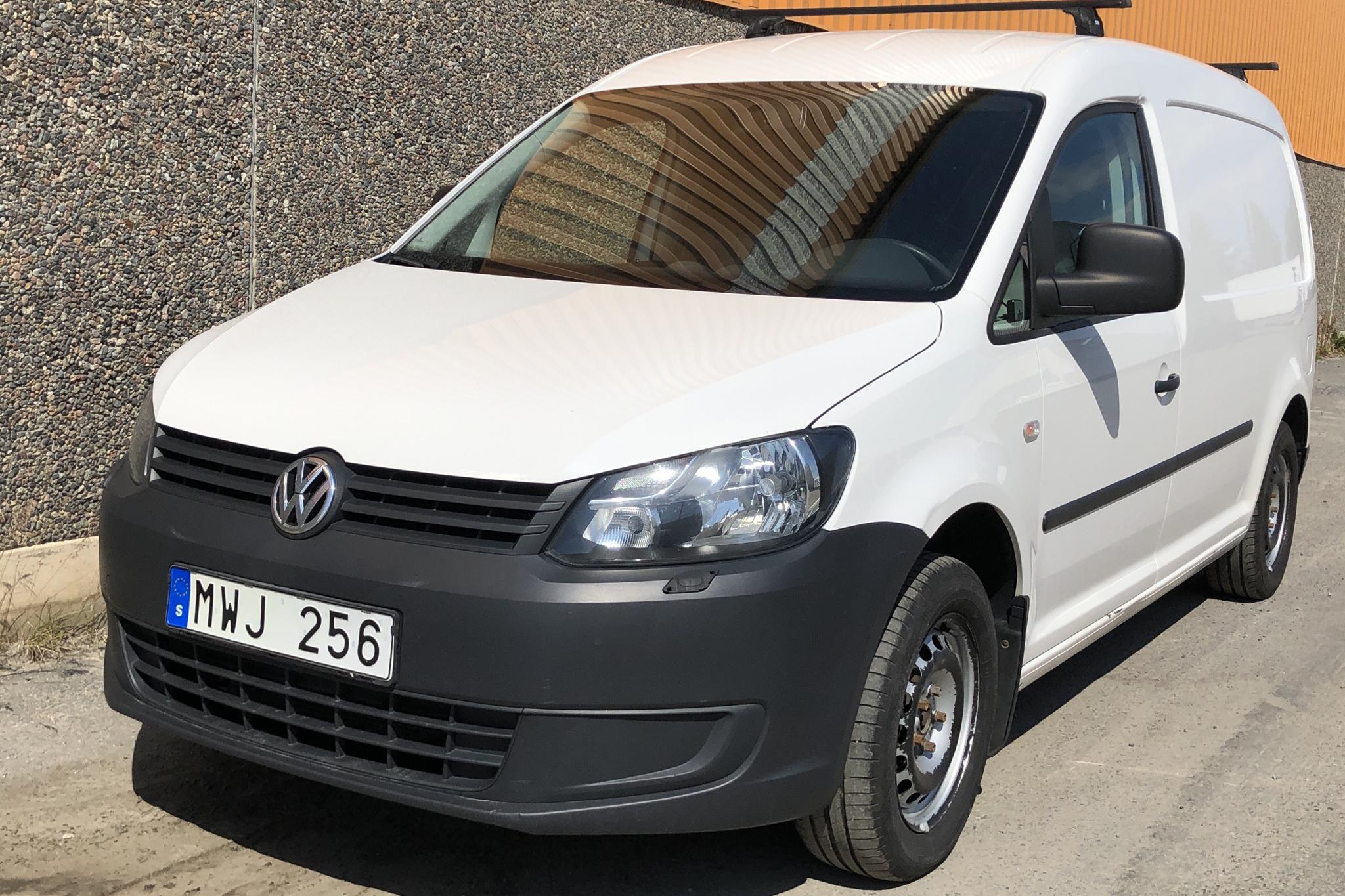 VW Caddy 1.6 TDI Maxi Skåp (102hk) - 7 735 mil - Automat - vit - 2012