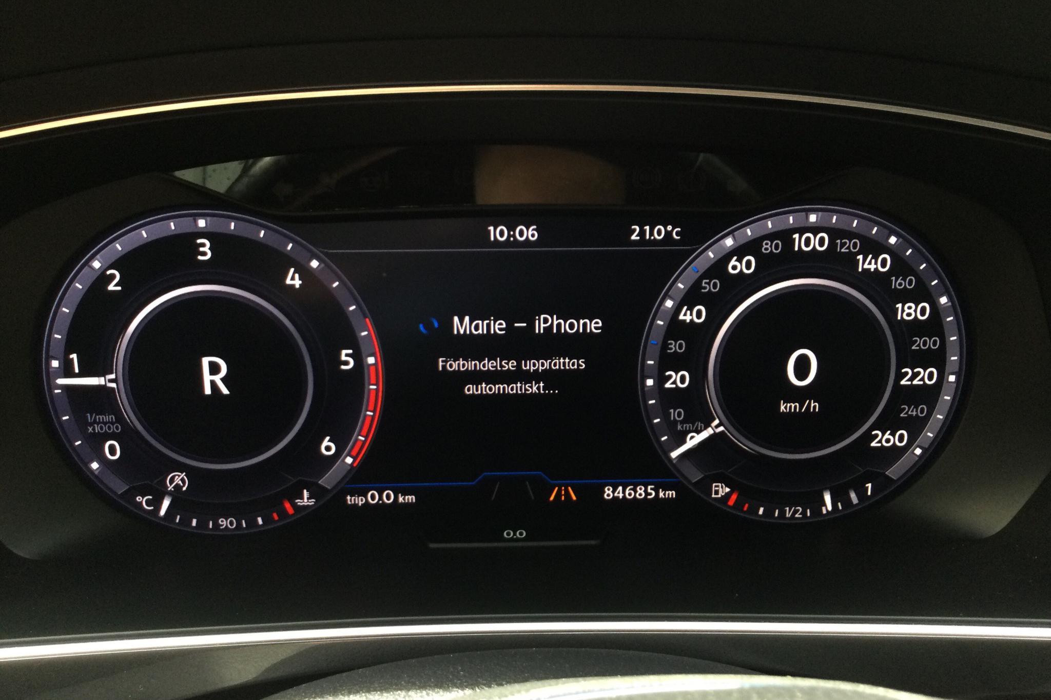 VW Tiguan 2.0 TDI 4MOTION (190hk) - 84 680 km - Automatic - white - 2017