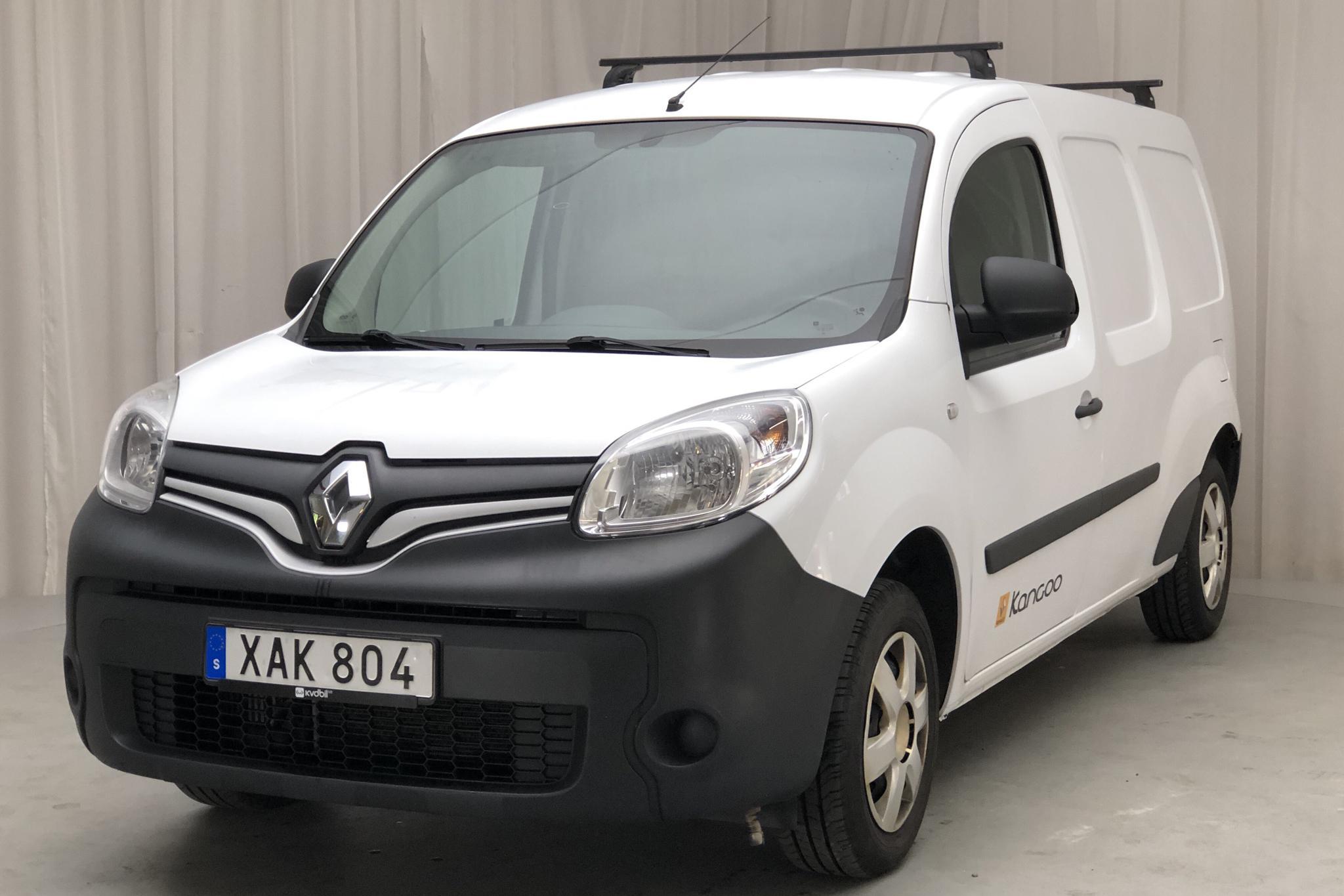 Renault Kangoo 1.5 dCi Maxi Skåp (110hk) - 8 368 mil - Manuell - vit - 2015