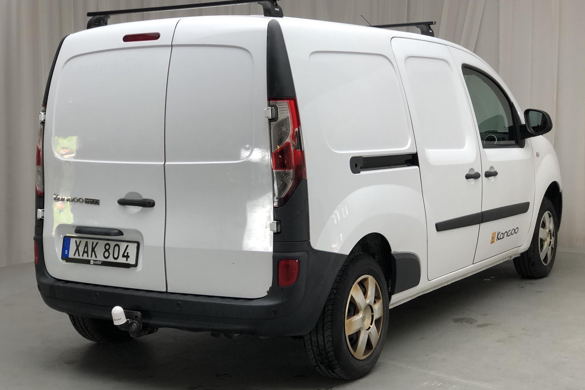 Renault Kangoo 1.5 dCi Maxi Skåp (110hk) - 83 680 km - Manual - white - 2015