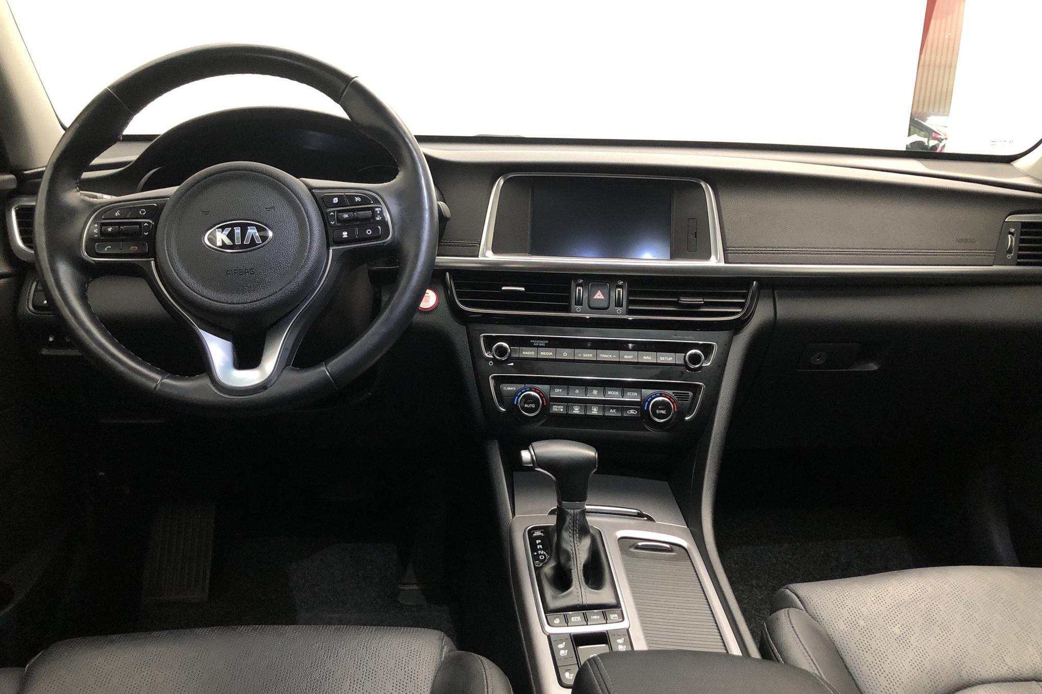 KIA Optima 2.0 GDi Plug-in Hybrid SW (205hk) - 5 302 mil - Automat - svart - 2018