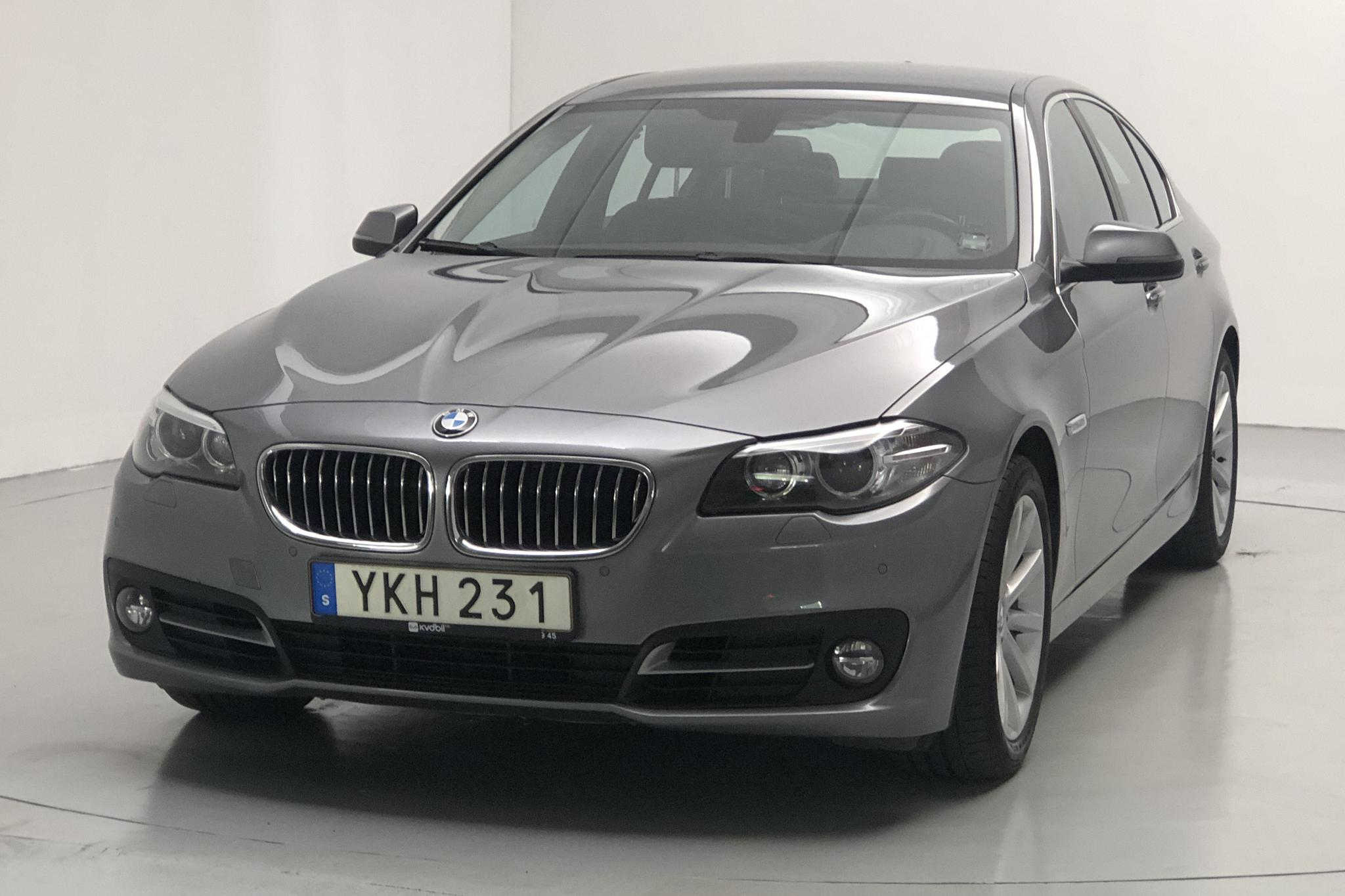 BMW 525d xDrive Sedan, F10 (218hk) - 91 720 km - Automatic - gray - 2014