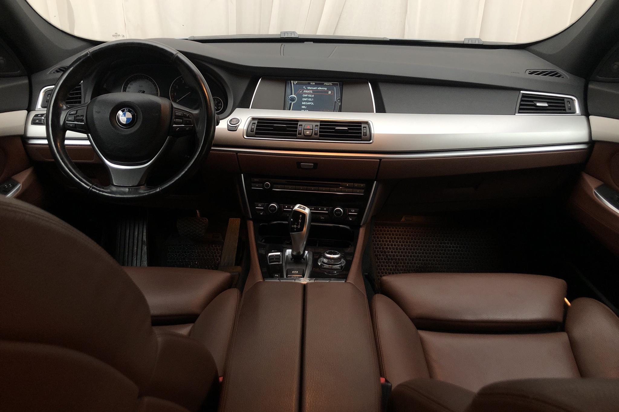 BMW 550i GT, F07 (408hk) - 177 670 km - Automatic - blue - 2010
