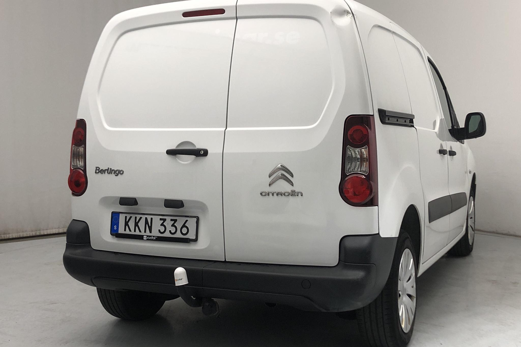 Citroen Berlingo III 1.6 HDi Skåp (75hk) - 43 070 km - Manual - white - 2015