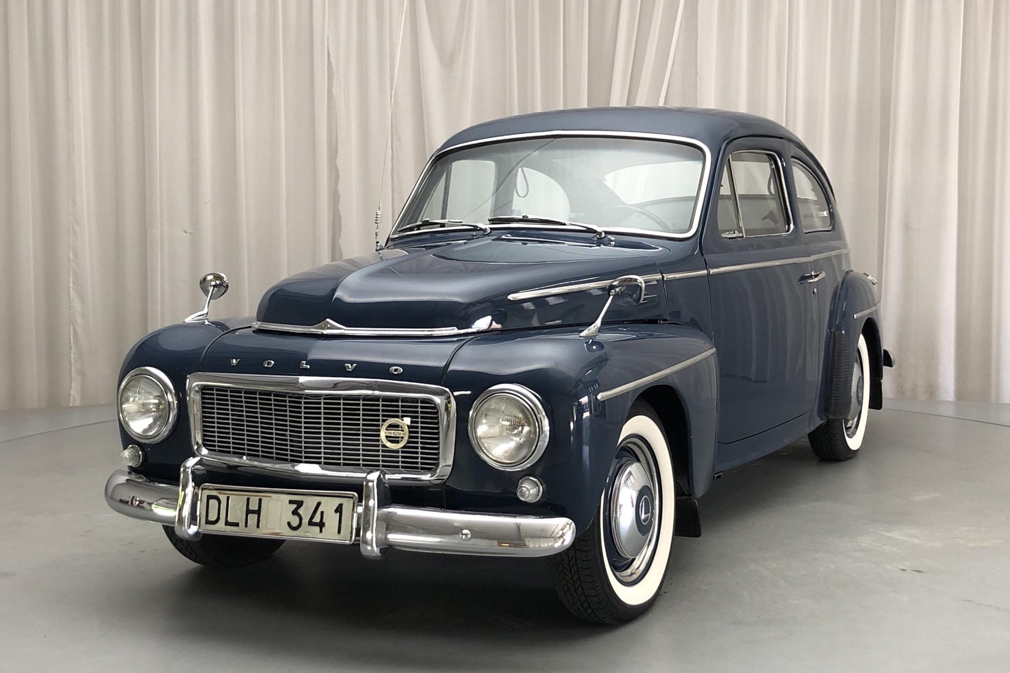 Volvo PV 544 - 4 245 mil - Manuell - blå - 1961