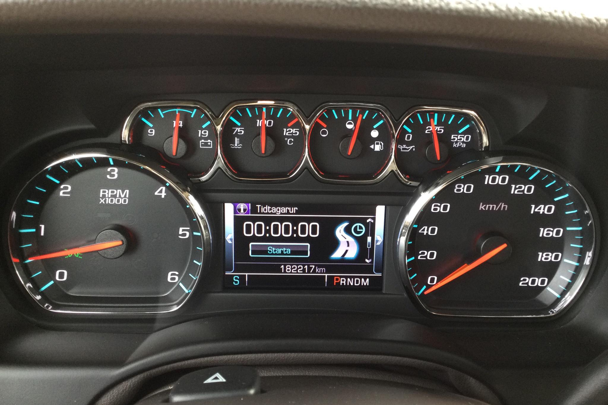 Chevrolet Suburban 5.3 4WD Hydra-Matic (360hk) - 182 210 km - Automatic - white - 2015