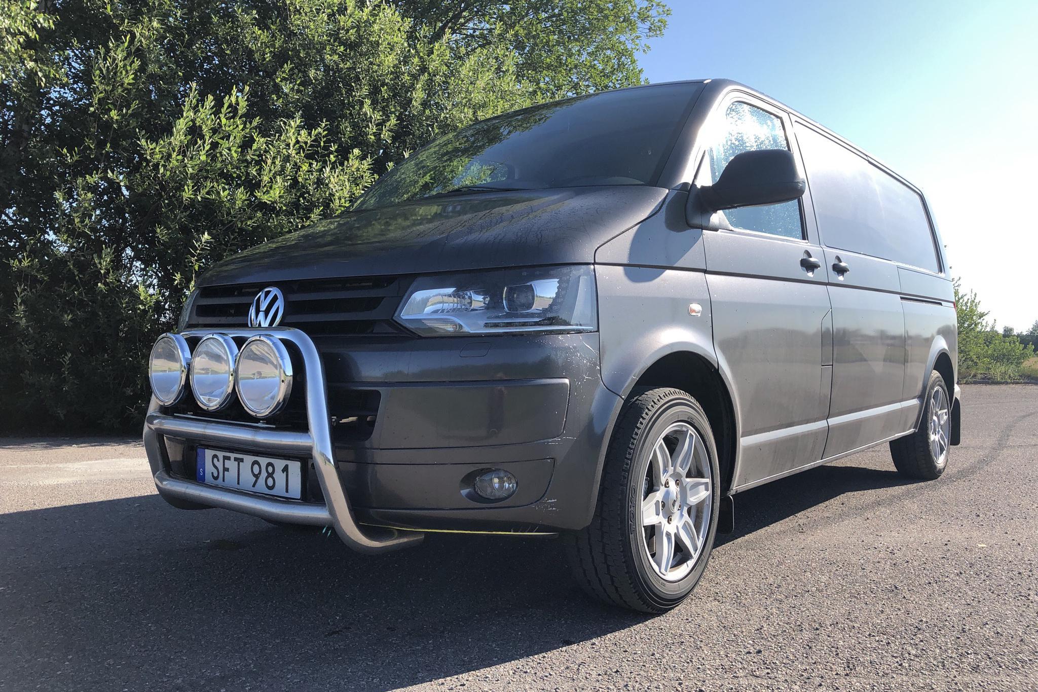 VW Transporter T5 2.0 TDI 4MOTION (180hk) - 29 150 mil - Automat - grå - 2012