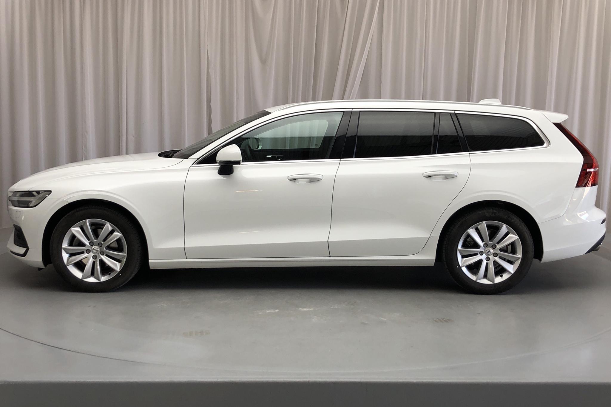 Volvo V60 B4 Mildhybrid, Diesel (197hk) - 1 665 mil - Automat - vit - 2021