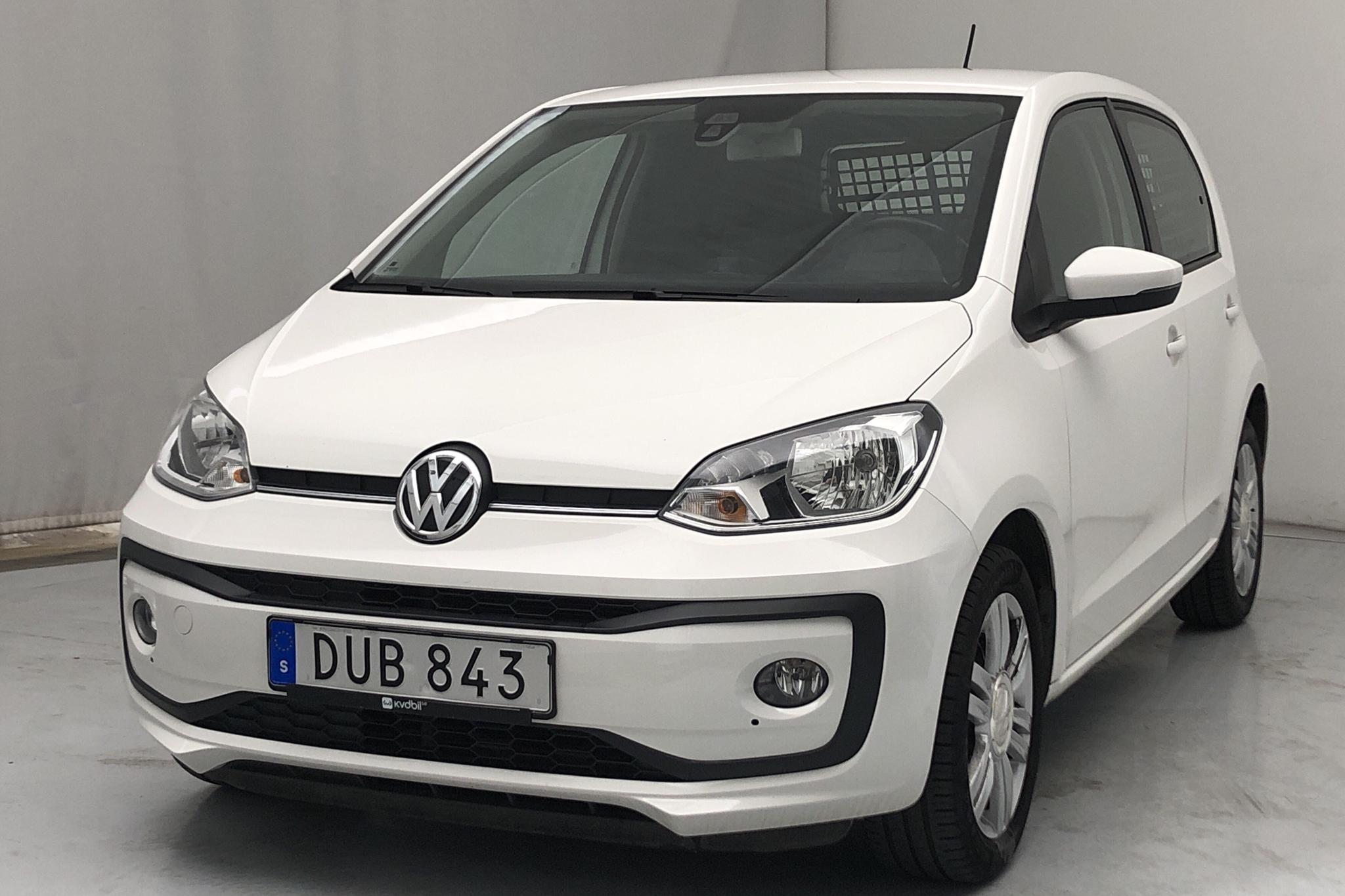 VW up! 1.0 5dr (75hk) - 5 036 mil - Manuell - vit - 2018