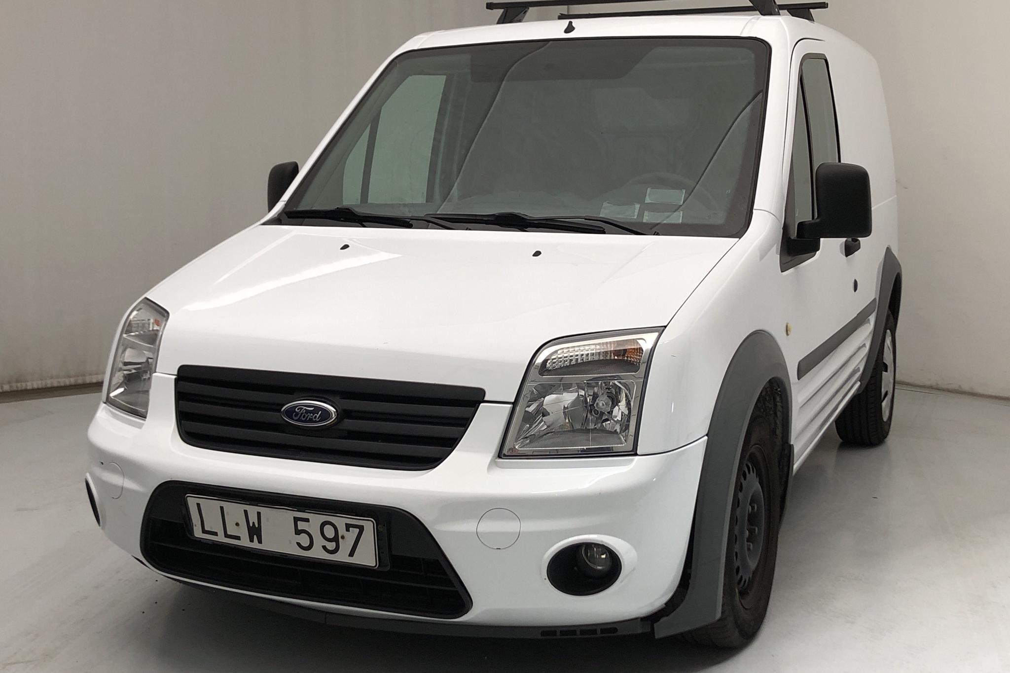 Ford Transit Connect 1.8 TDCi (90hk) - 59 860 km - Manual - white - 2011