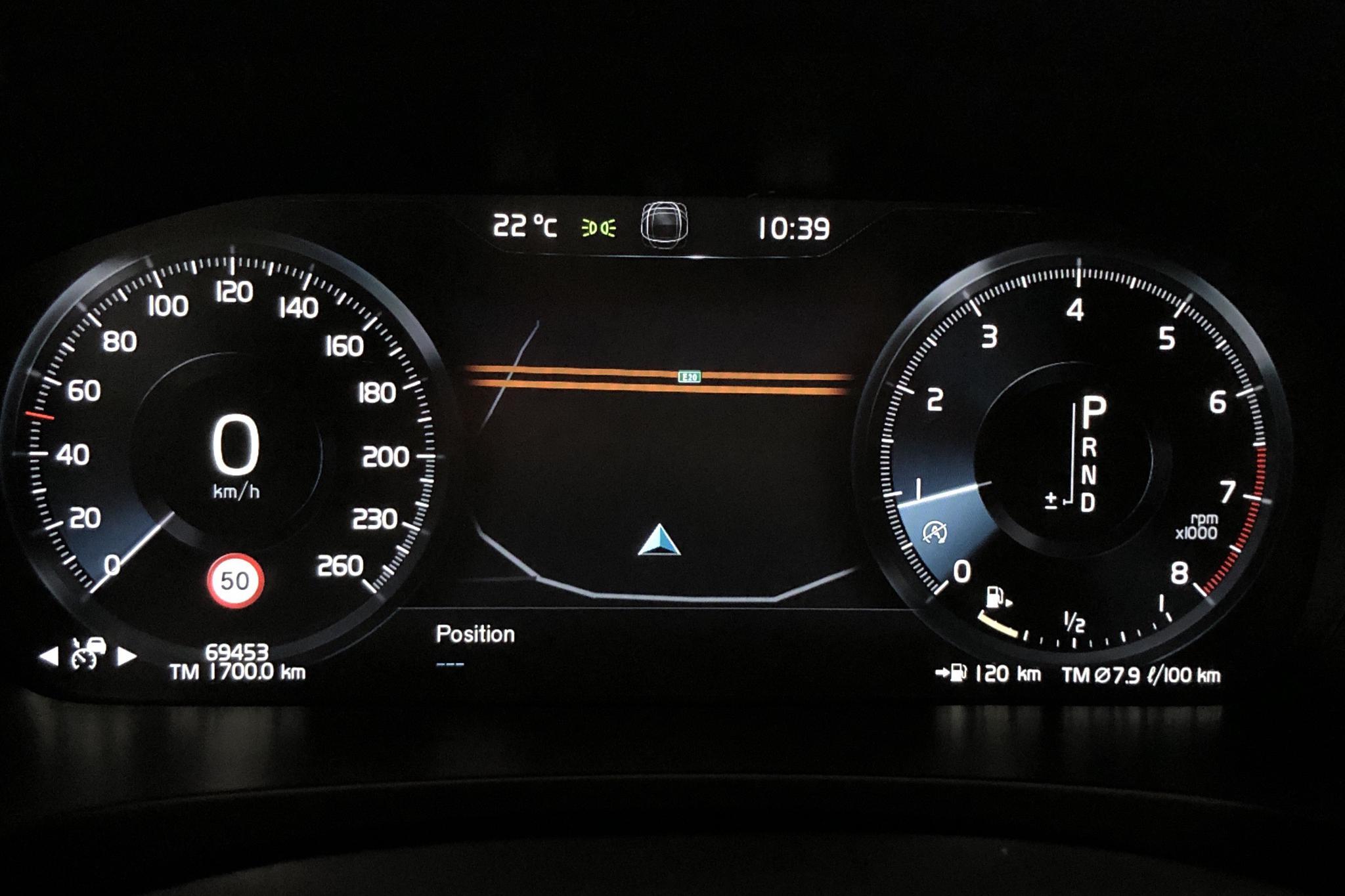 Volvo V90 T4 (190hk) - 6 944 mil - Automat - Dark Blue - 2019