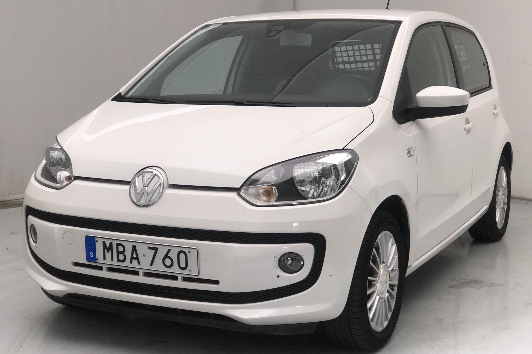 VW up! 1.0 5dr (75hk) - 34 900 km - Manual - white - 2016