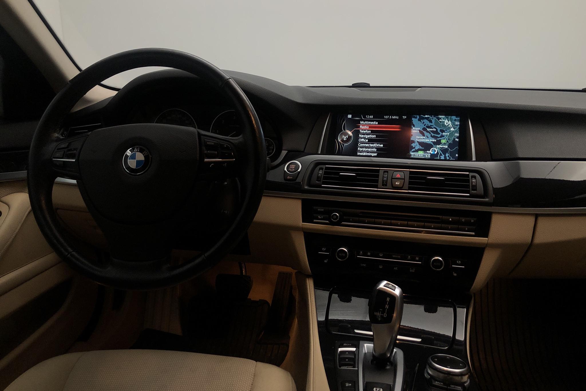 BMW 520d xDrive Touring, F11 (190hk) - 125 200 km - Automatic - black - 2016
