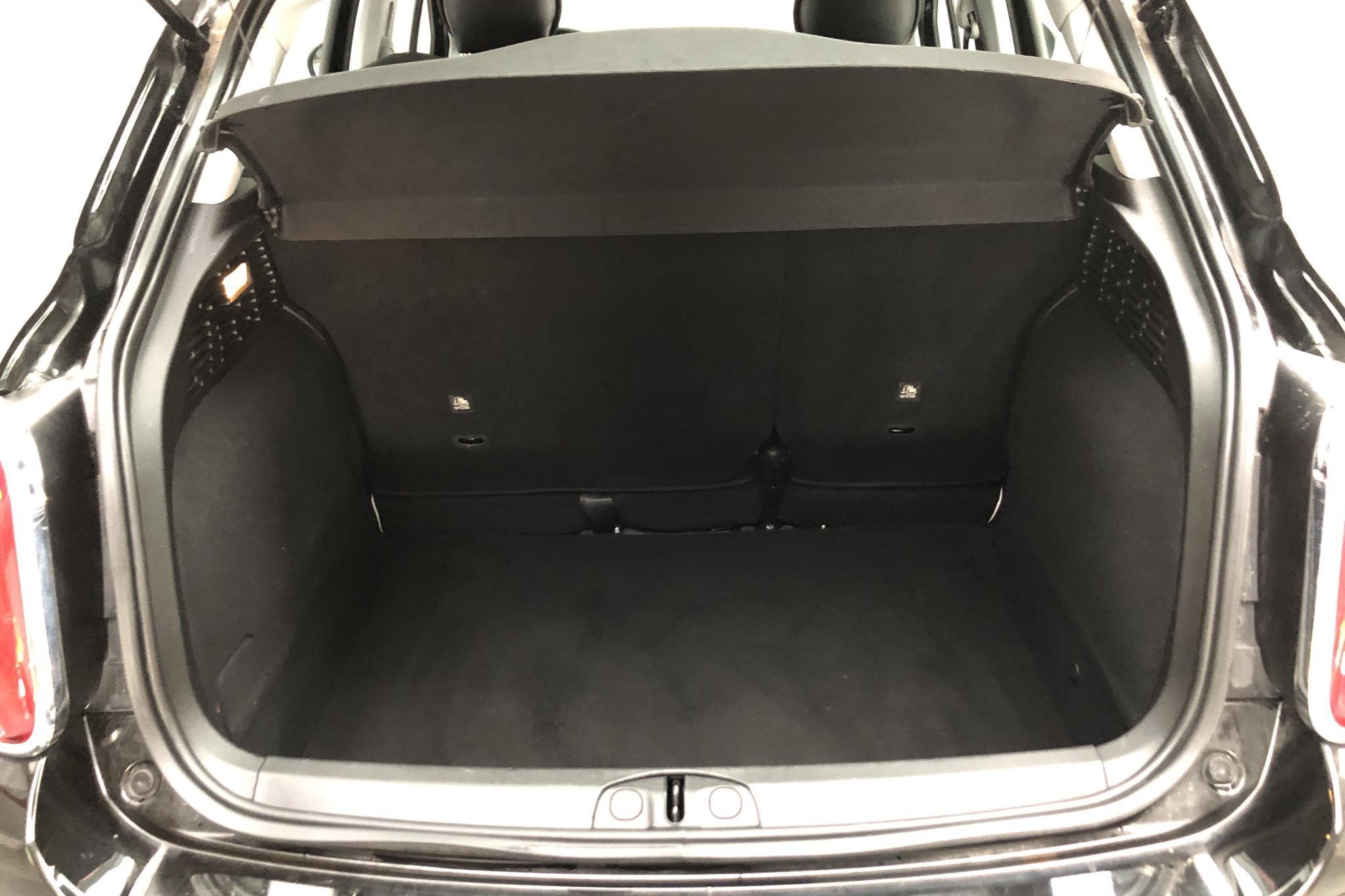 Fiat 500X 1.6 E-torq (110hk) - 2 278 mil - Manuell - svart - 2018