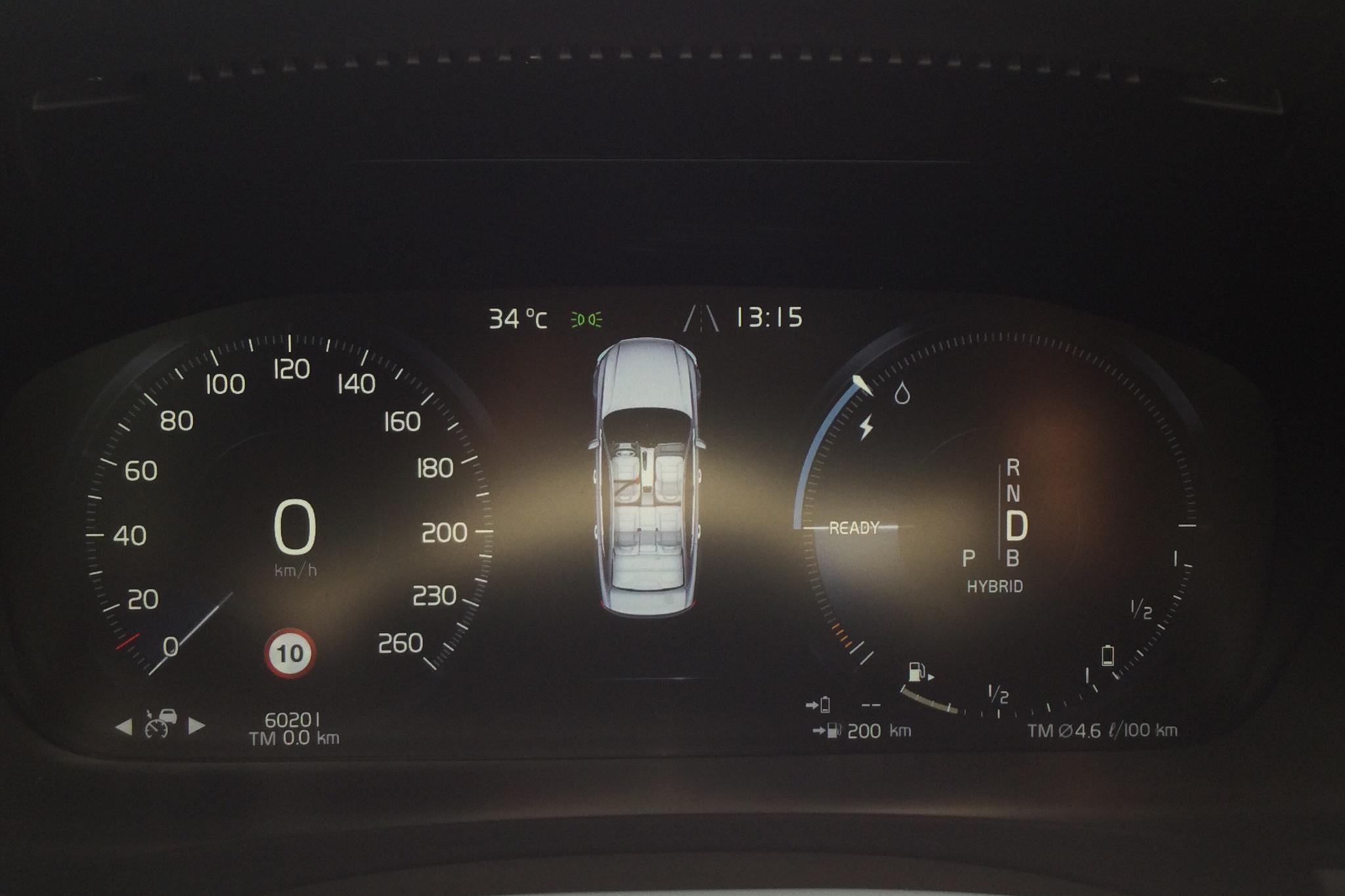 Volvo S90 T8 AWD Twin Engine (407hk) - 6 020 mil - Automat - Dark Blue - 2018