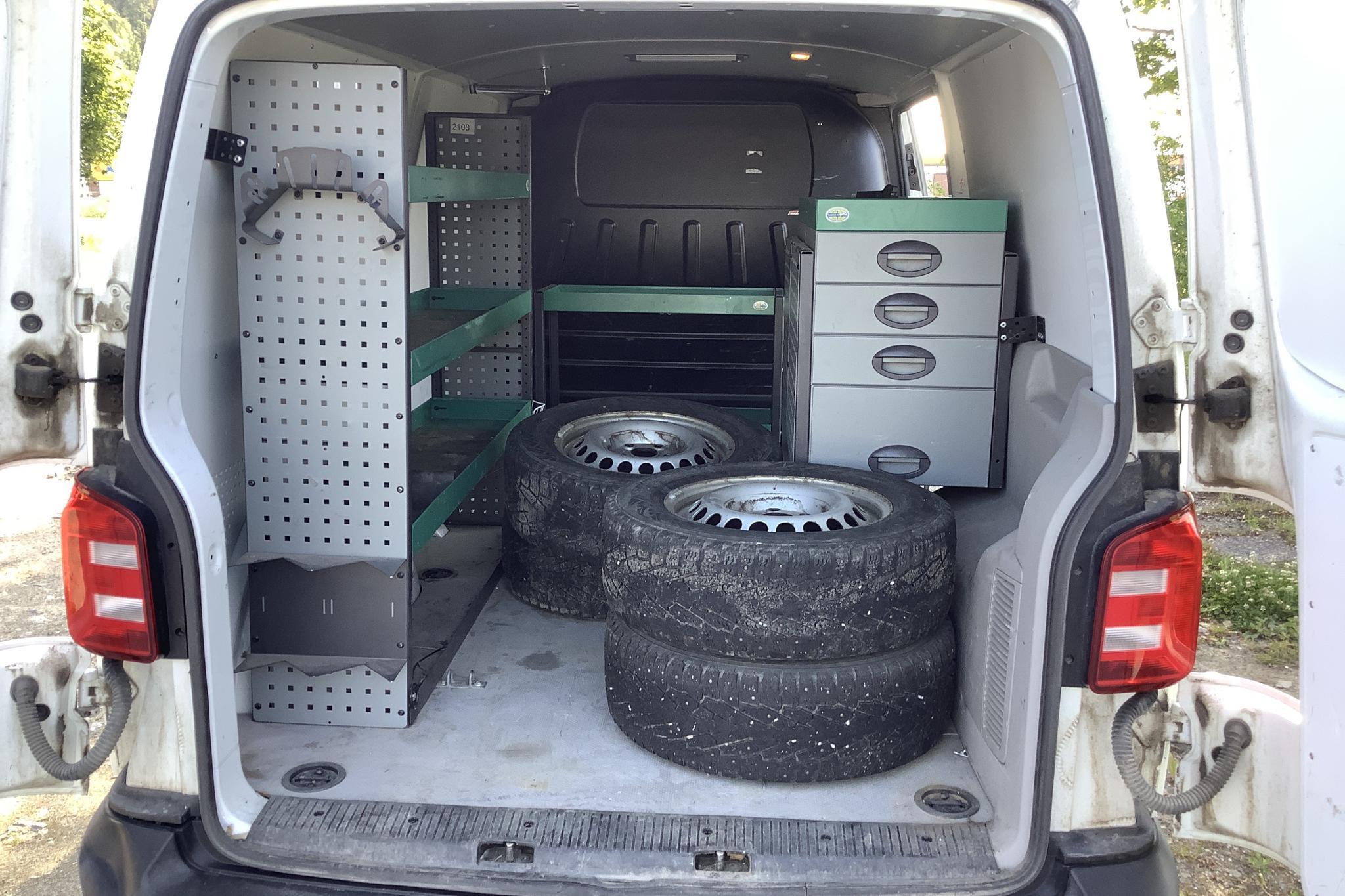 VW Transporter T6 2.0 TDI BMT Skåp 4MOTION (140hk) - 199 400 km - Manual - white - 2016