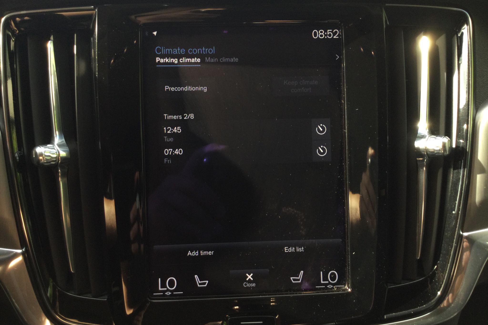 Volvo S90 D4 (190hk) - 40 450 km - Automatic - black - 2017