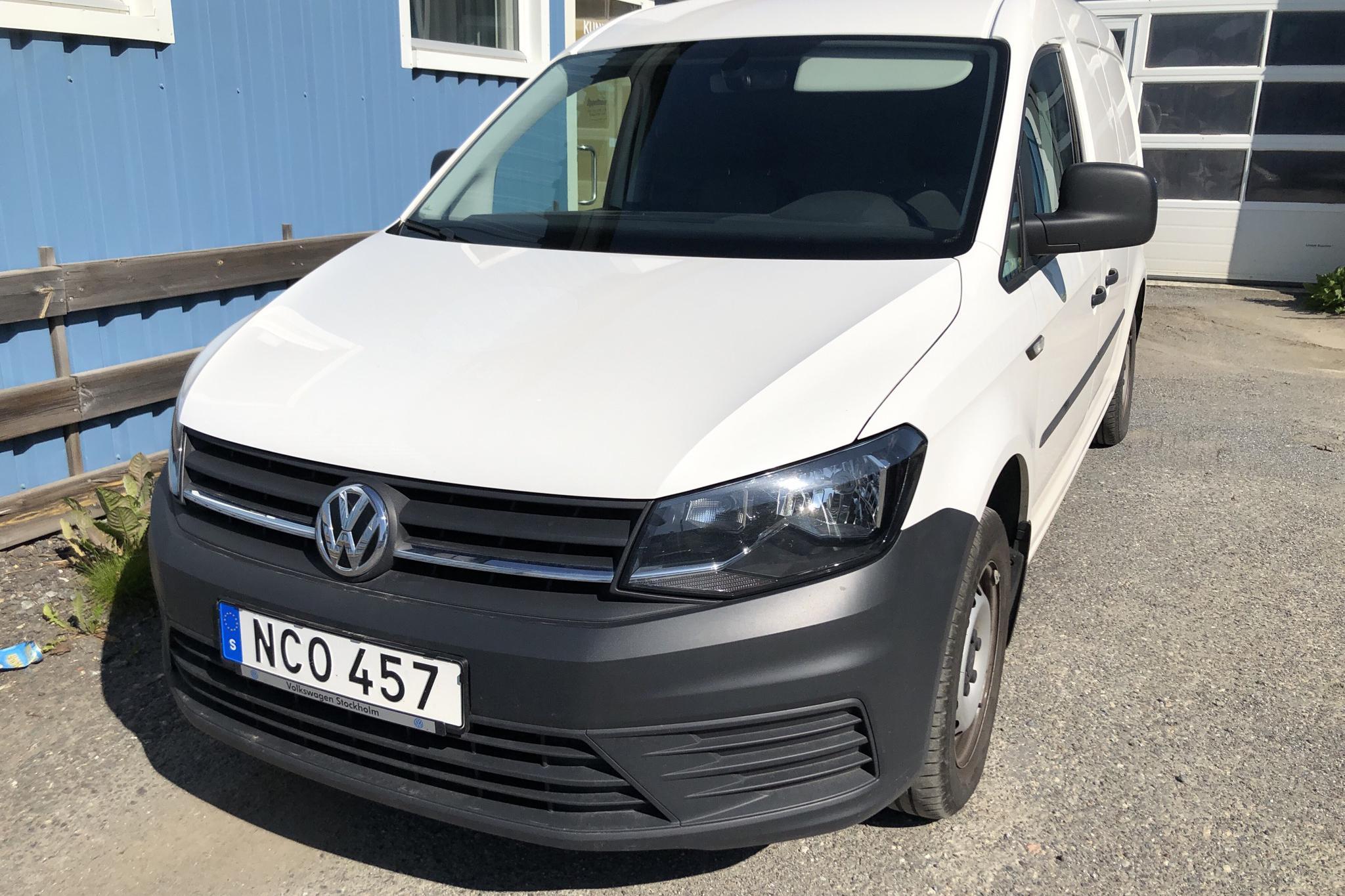 VW Caddy 2.0 TDI Maxi Skåp (102hk) - 82 610 km - Manual - white - 2016