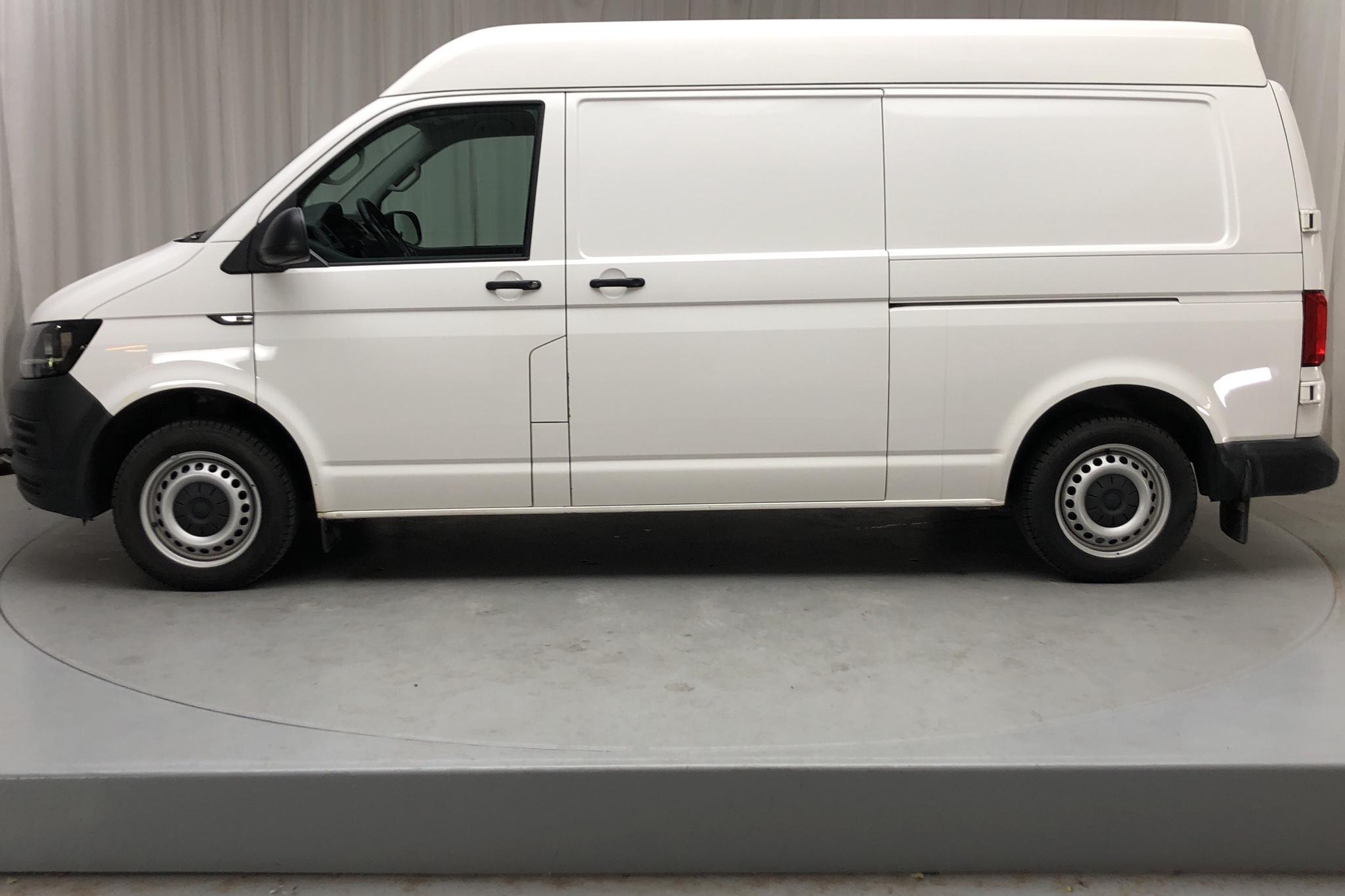 VW Transporter T6 2.0 TDI BMT Skåp (150hk) - 125 400 km - Manual - white - 2016