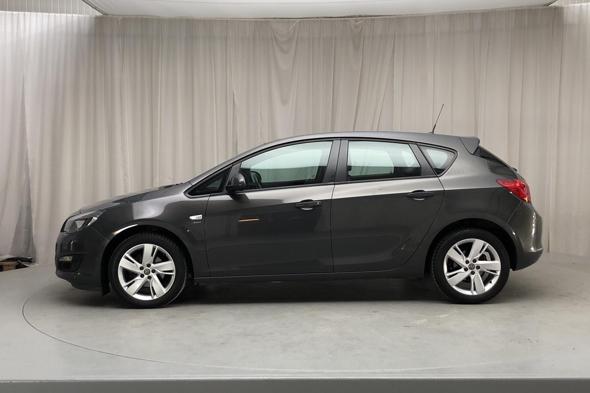 Opel Astra 1.6 ECOTEC 5dr (115hk) - 68 380 km - Manual - gray - 2014