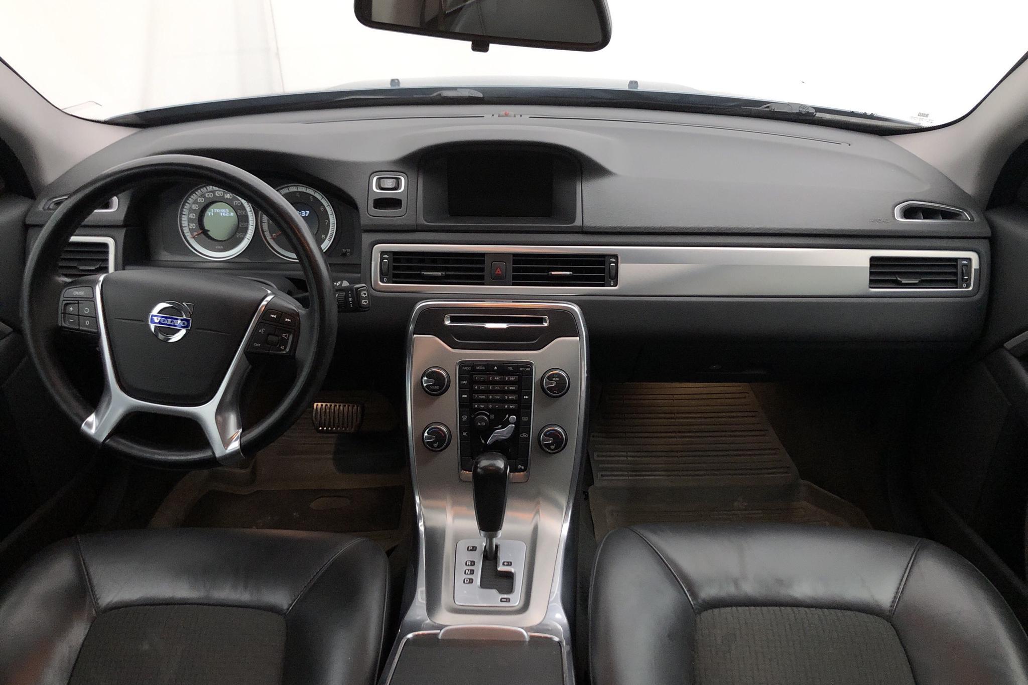 Volvo V70 II T4F (180hk) - 17 048 mil - Automat - blå - 2012
