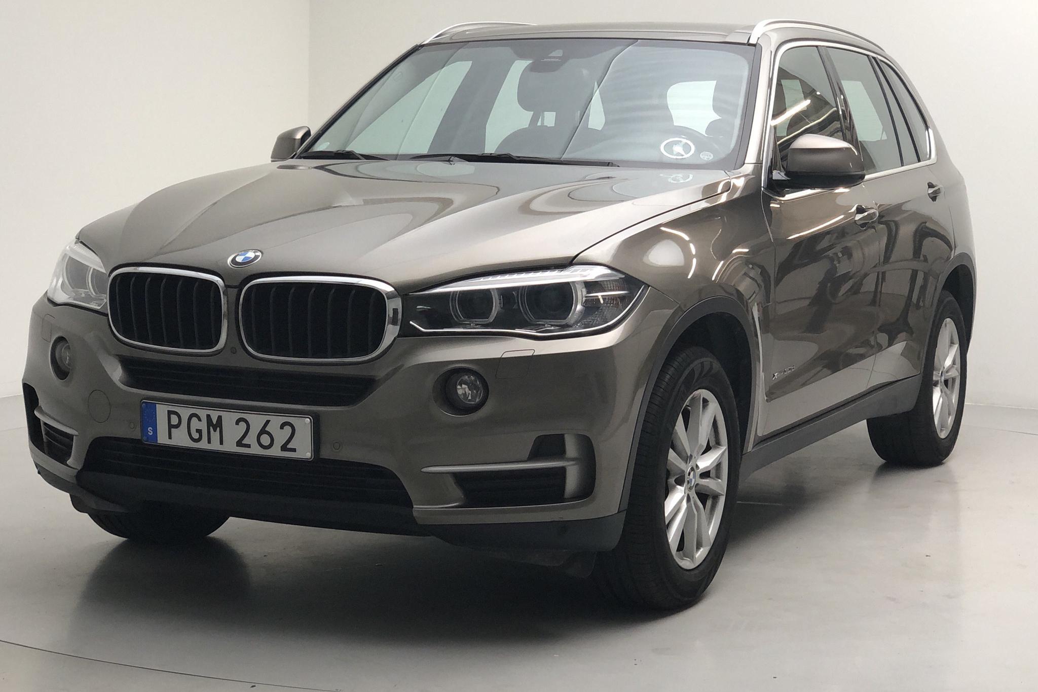 BMW X5 xDrive30d, F15 (258hk) - 7 701 mil - Automat - brun - 2017