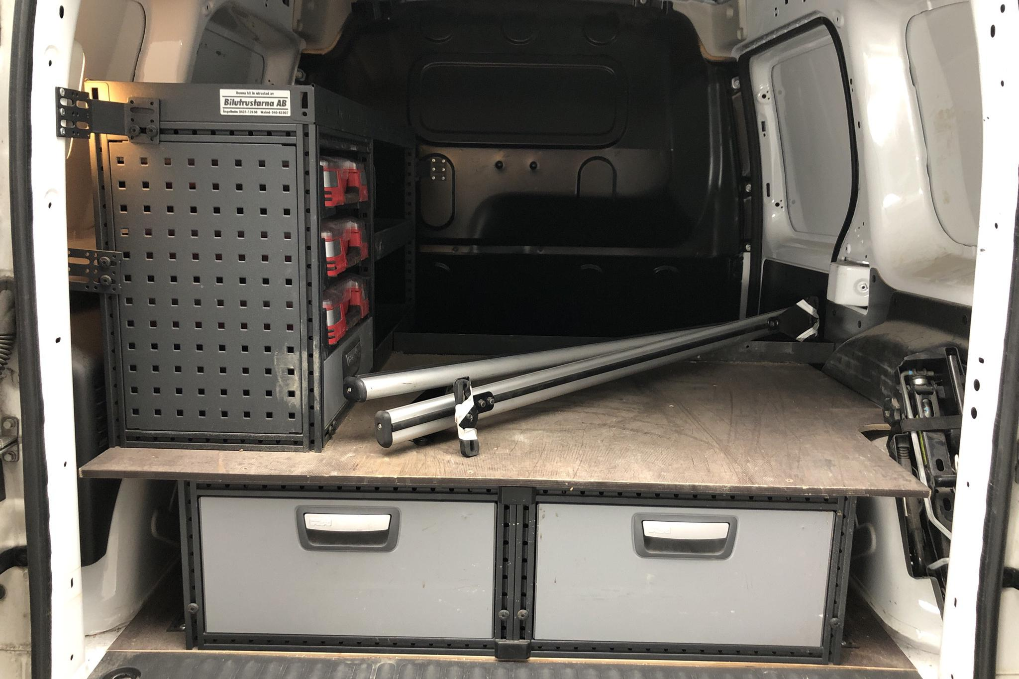 Mercedes Citan 109 1.5 CDI (90hk) - 17 709 mil - Manuell - vit - 2017