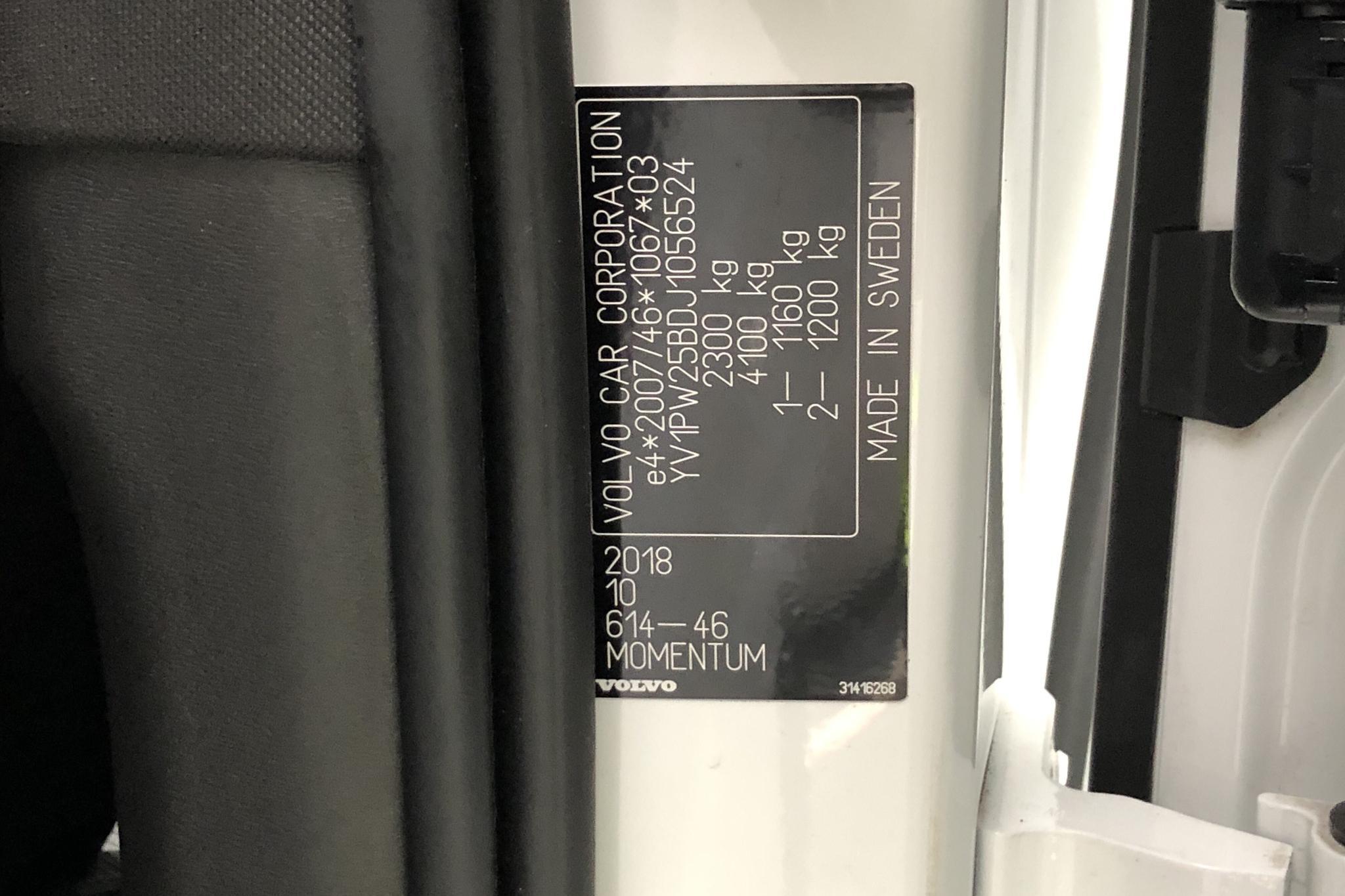 Volvo V90 T5 (250hk) - 112 330 km - Automatic - white - 2018